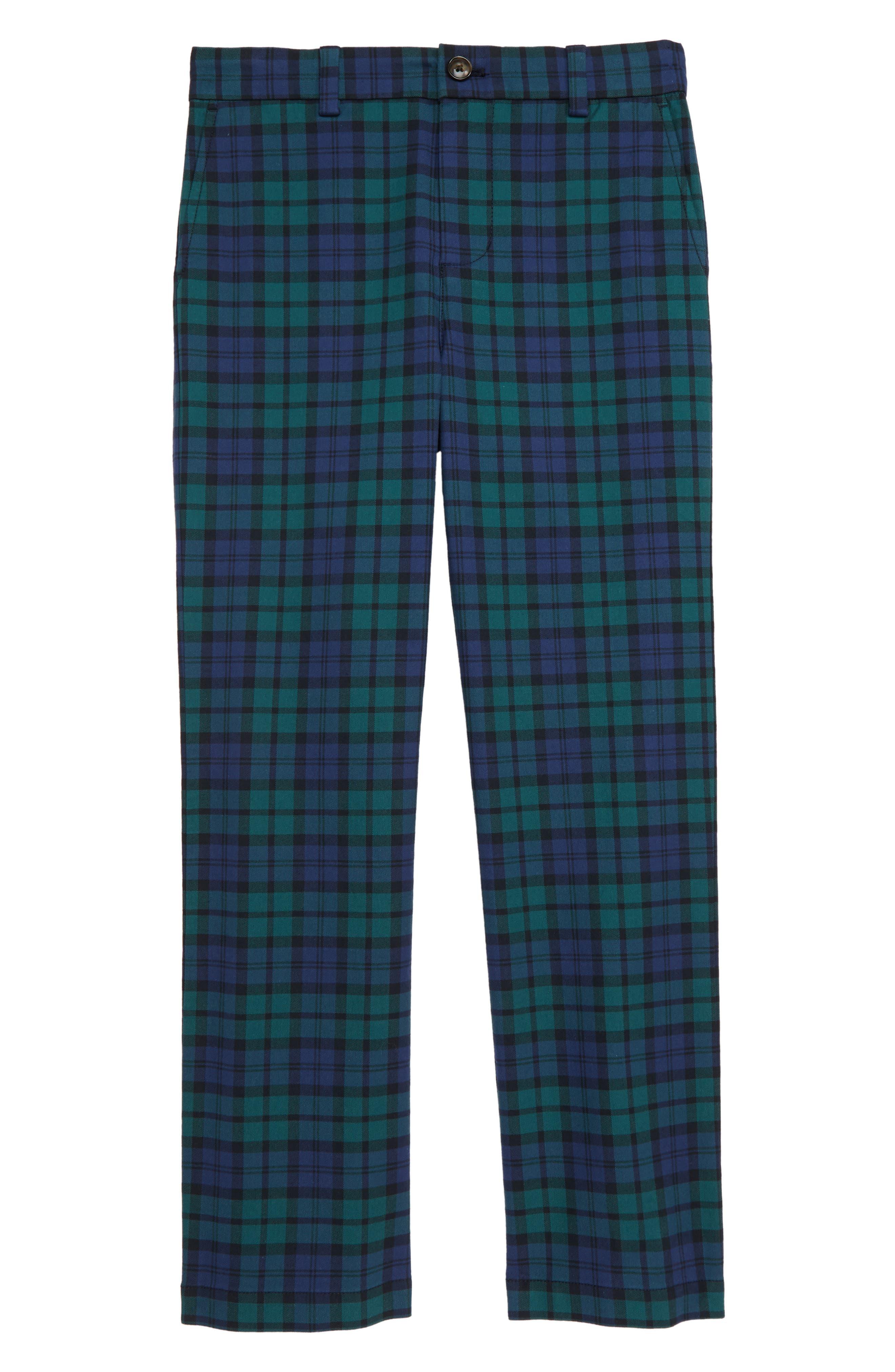 Boys Vineyard Vines Breaker Pants Size 10  Blue