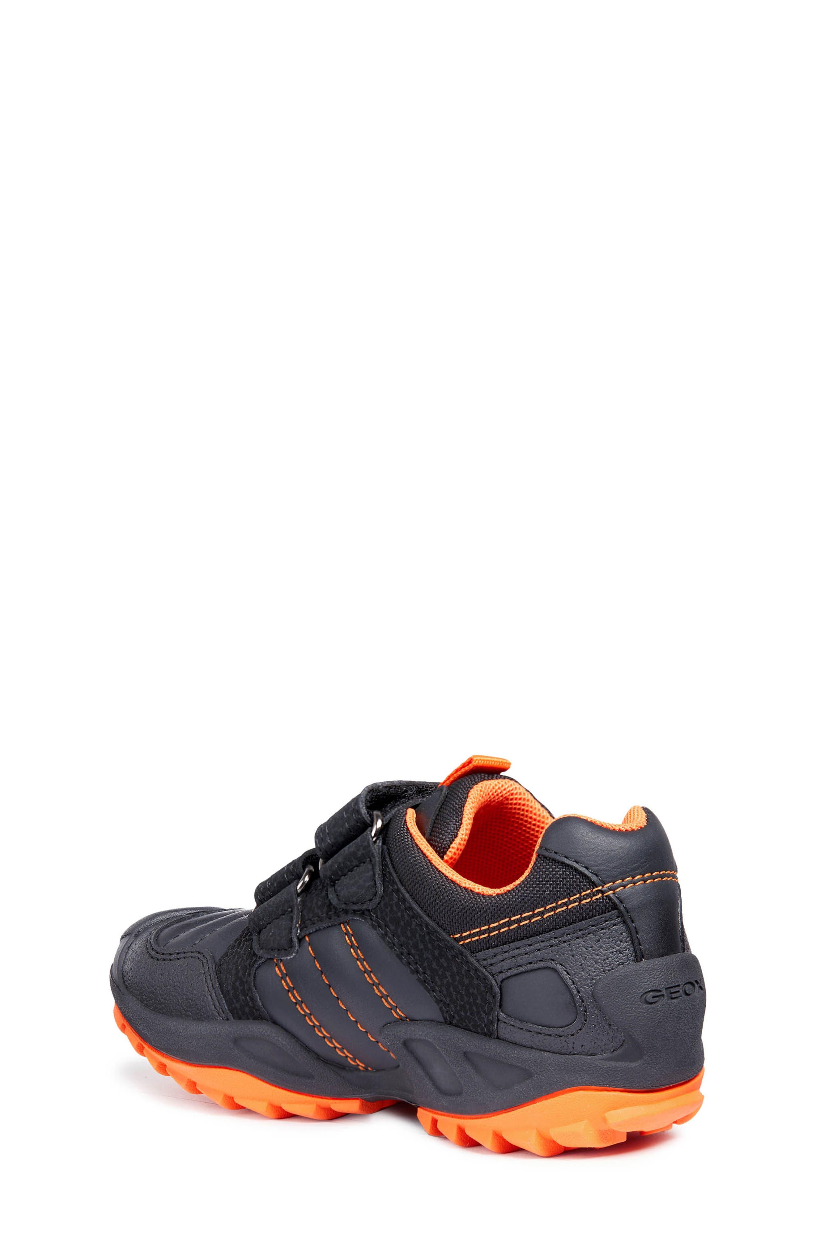 New Savage Sneaker,                             Alternate thumbnail 2, color,                             BLACK/ORANGE