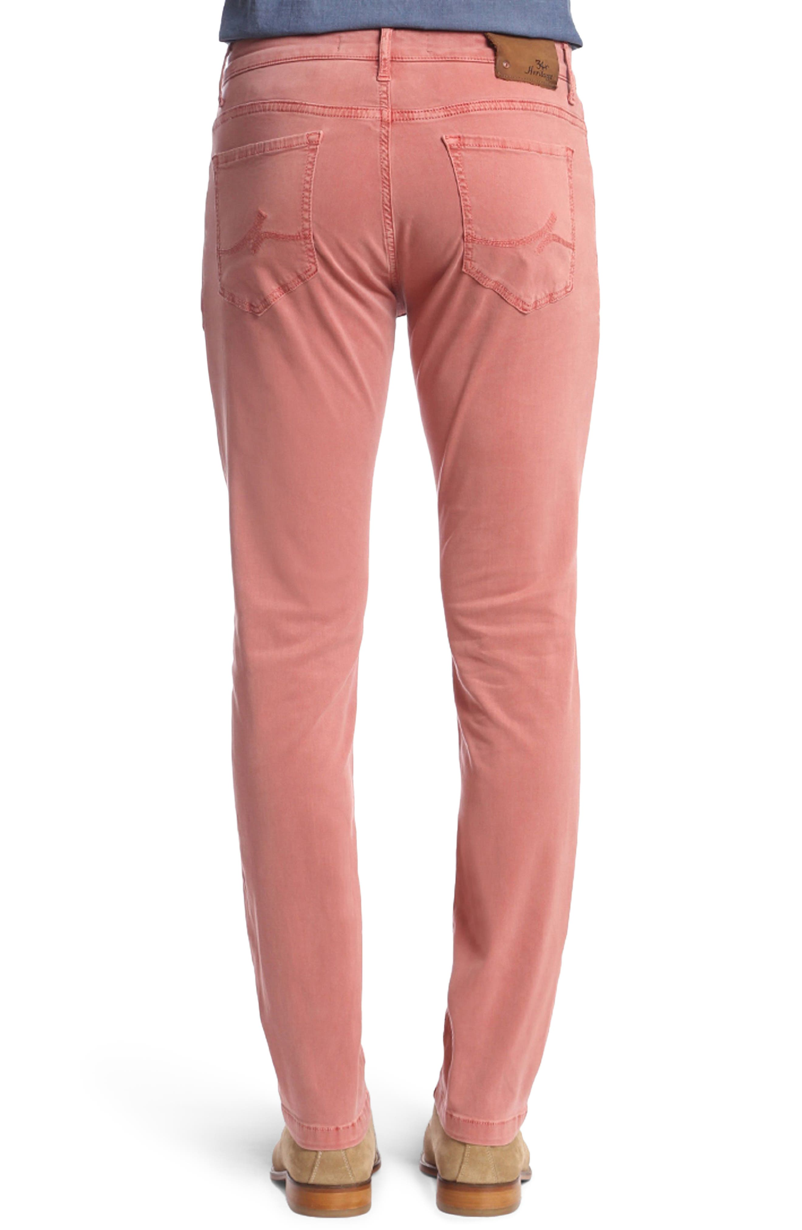 Charisma Relaxed Fit Twill Pants,                             Alternate thumbnail 2, color,                             BRICK TWILL