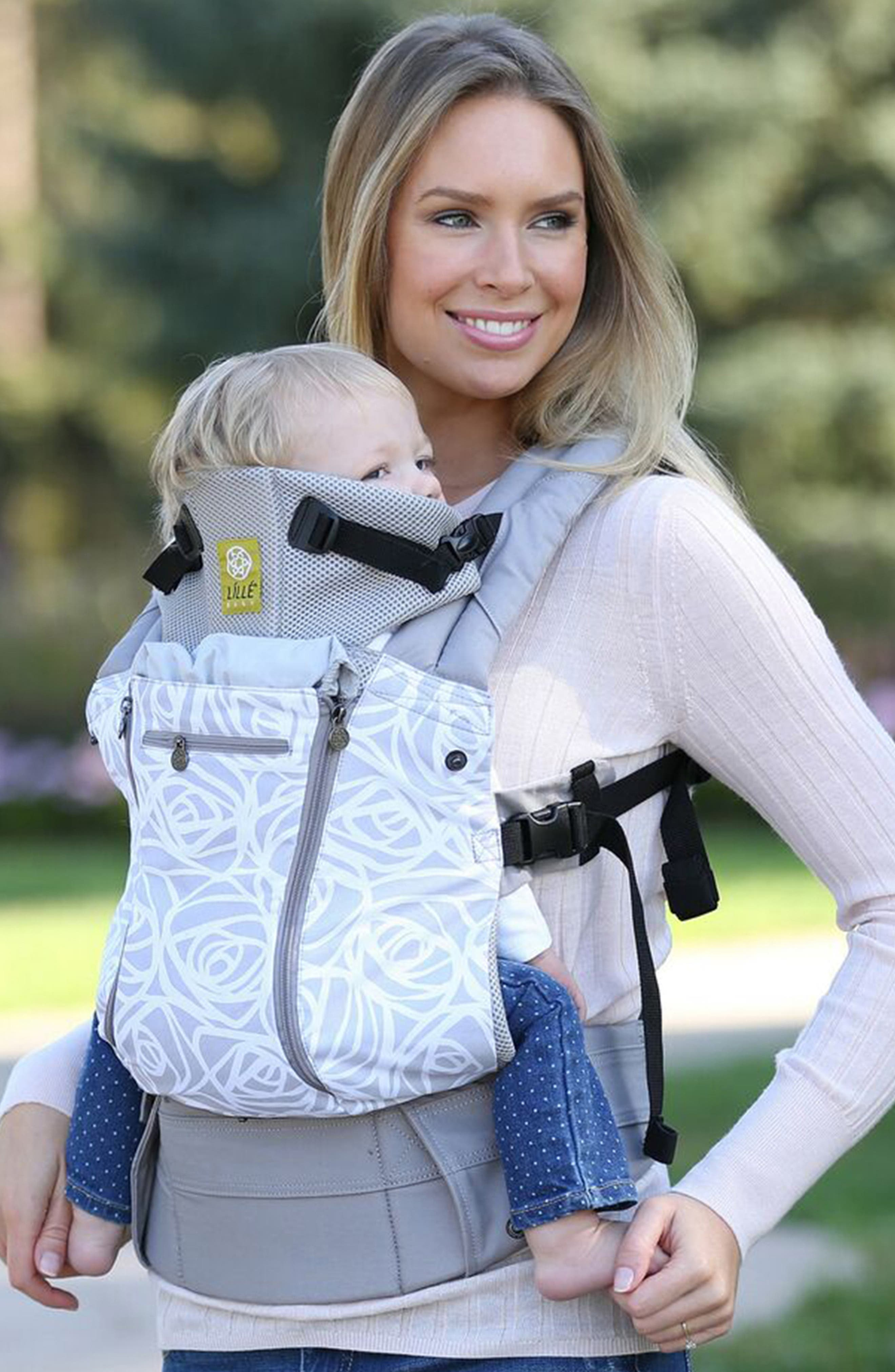 All Seasons - Frosted Rose Baby Carrier,                             Alternate thumbnail 2, color,                             FROSTED ROSE