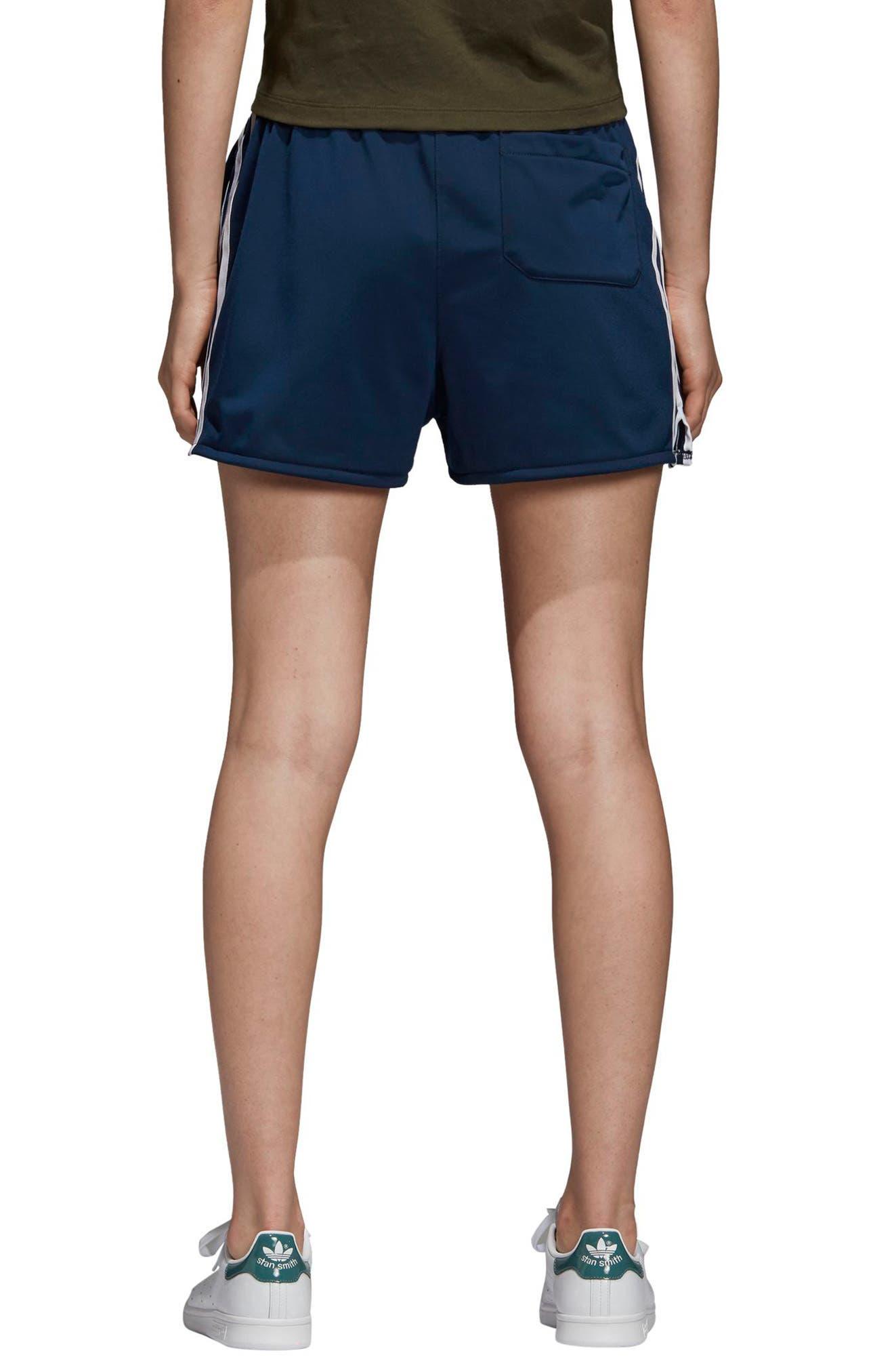 3-Stripes Shorts,                             Alternate thumbnail 2, color,                             COLLEGIATE NAVY