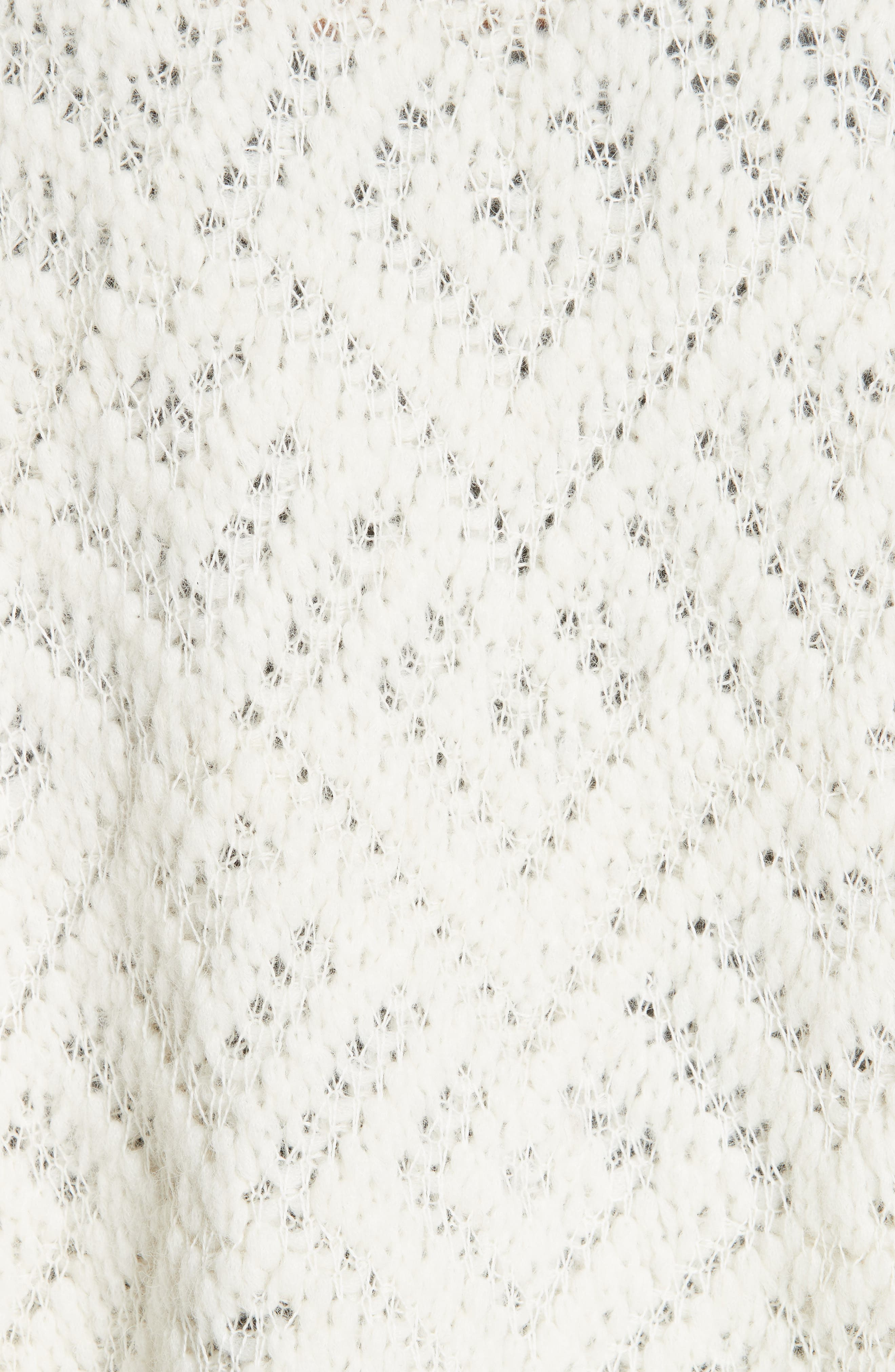 Simple Cardigan,                             Alternate thumbnail 5, color,                             SOFT WHITE