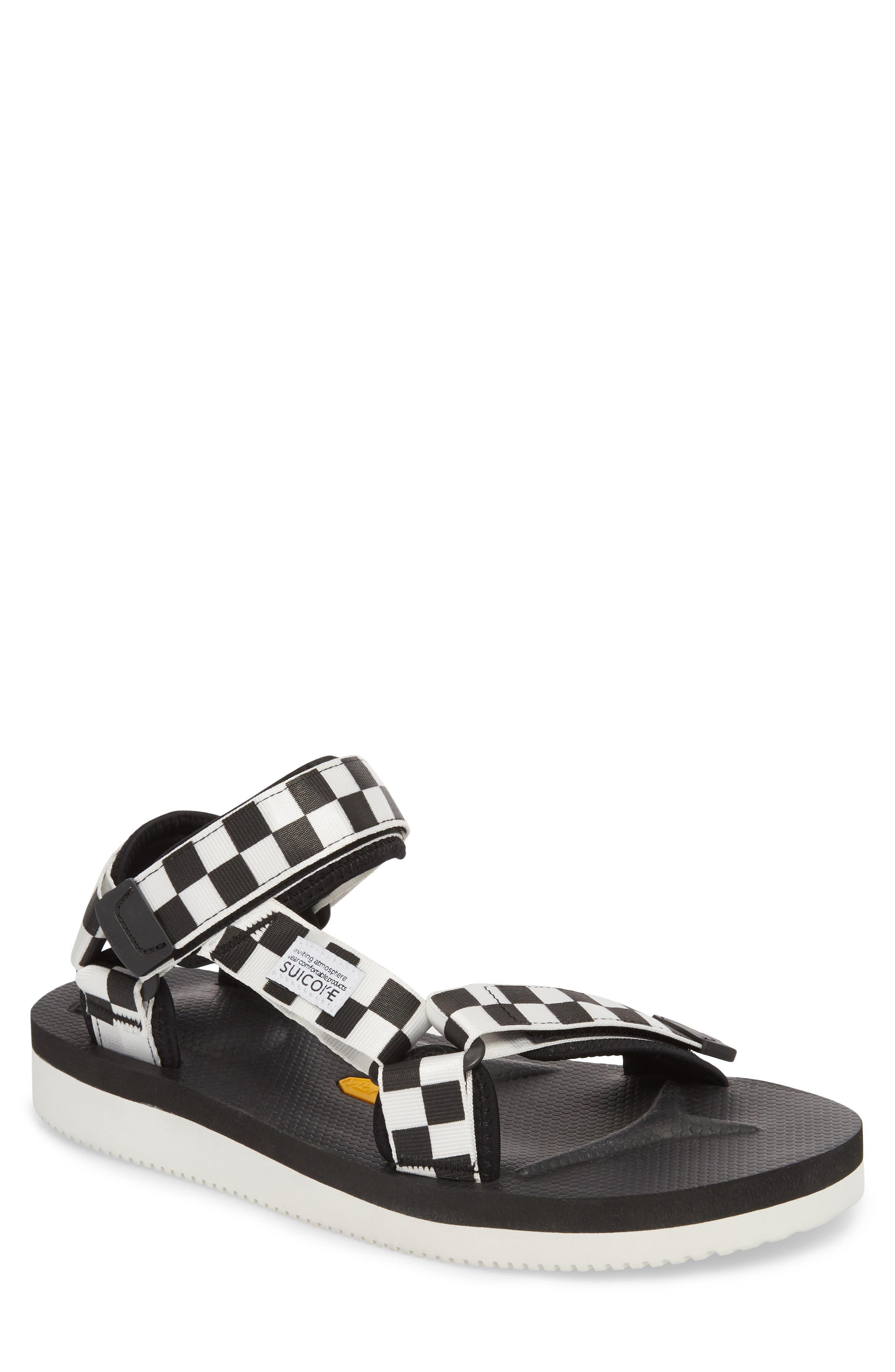 Depa Sport Sandal,                             Main thumbnail 1, color,                             BLACK