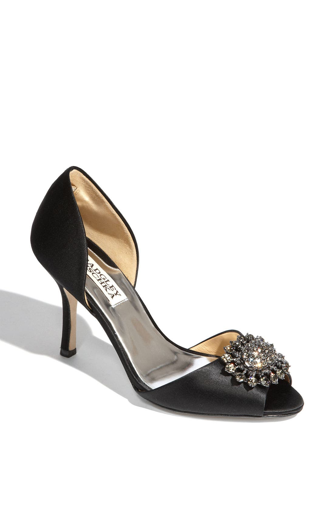 Badgley Mischka 'Lacie' Pump,                             Main thumbnail 1, color,                             015