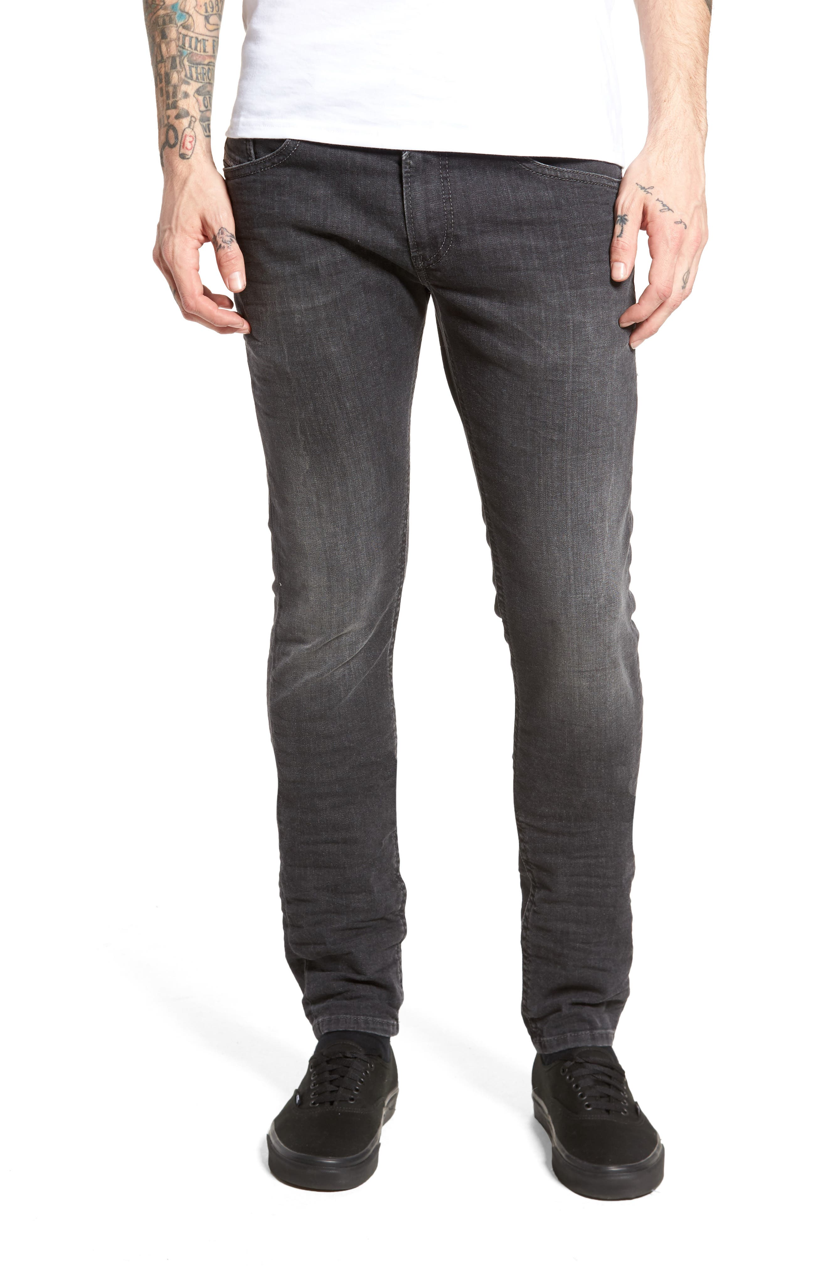 Thommer Slim Fit Jeans,                             Main thumbnail 1, color,                             001