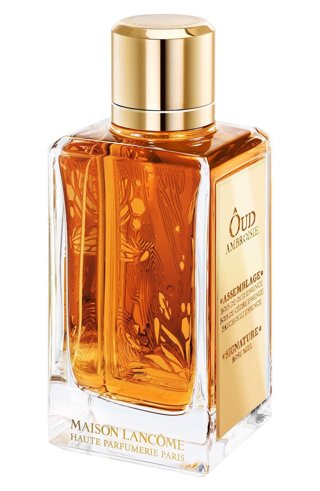 Maison Lancôme - Ôud Ambroisie Eau de Parfum,                             Alternate thumbnail 2, color,                             NO COLOR