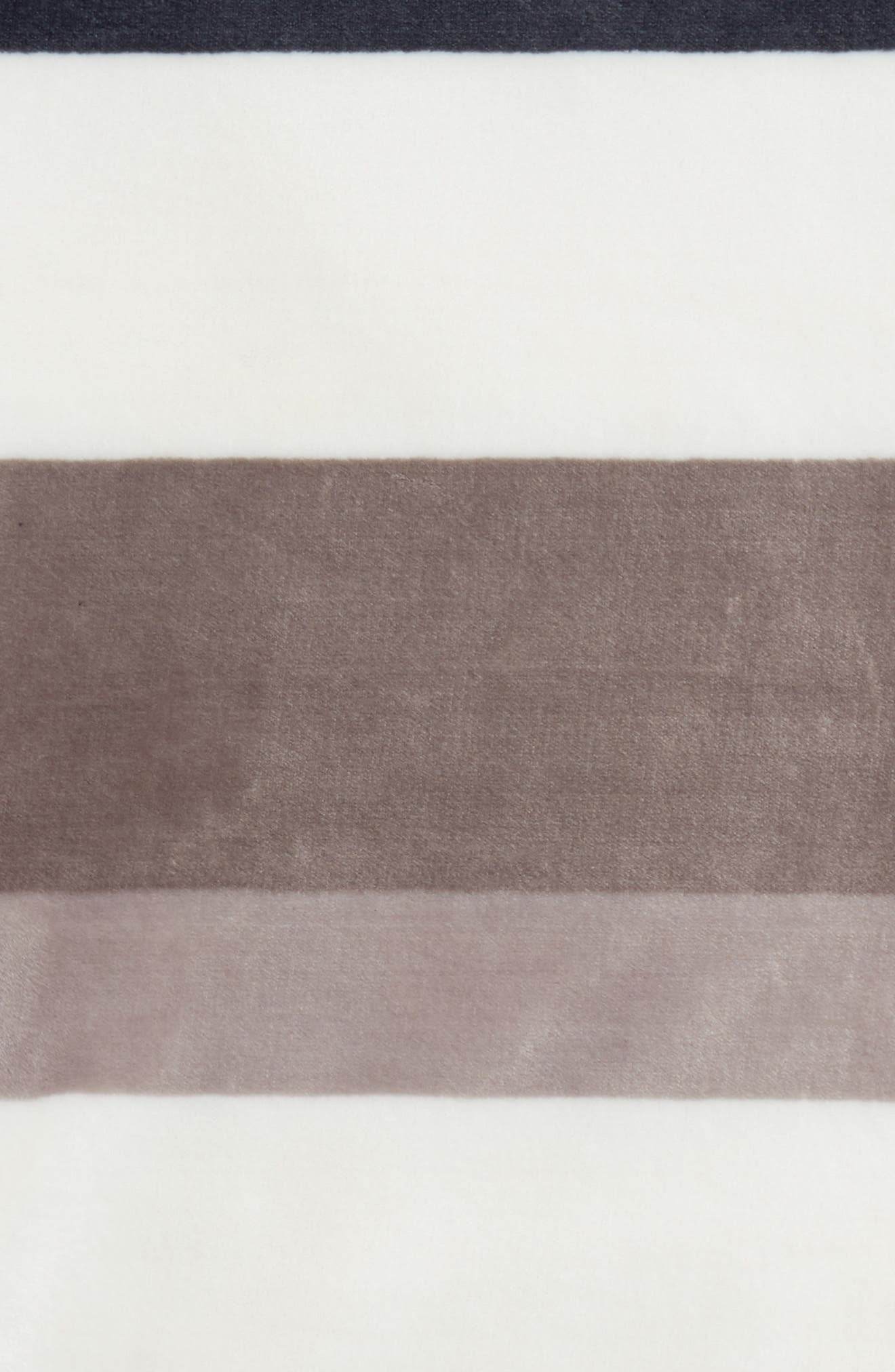 Tonal Stripe Plush Throw,                             Alternate thumbnail 2, color,                             020