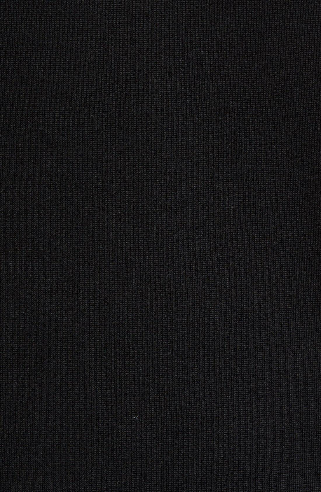 Cotton Jersey V-Neck Sweater,                             Alternate thumbnail 27, color,