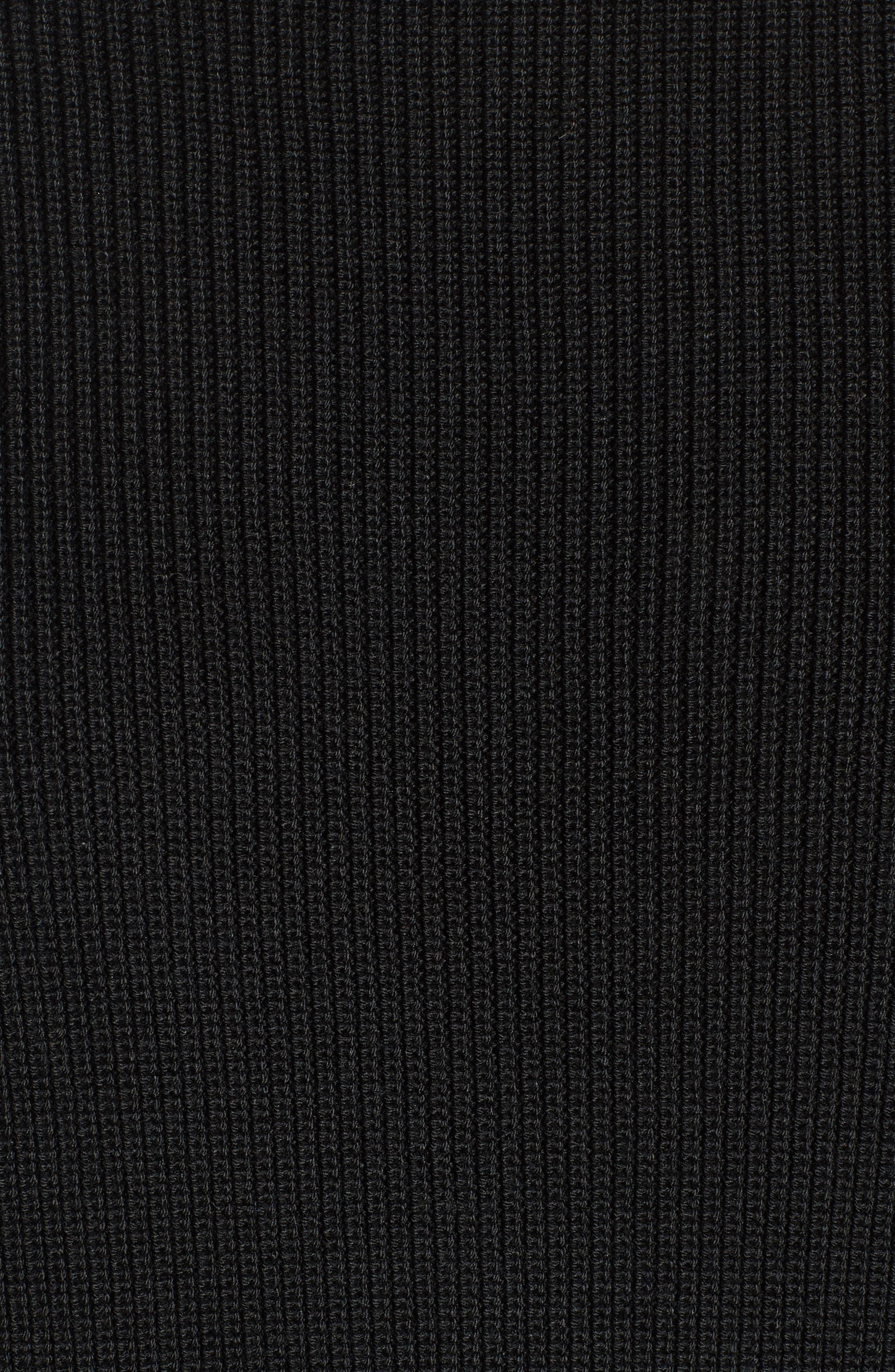 Twist Back Sweater,                             Alternate thumbnail 5, color,                             001