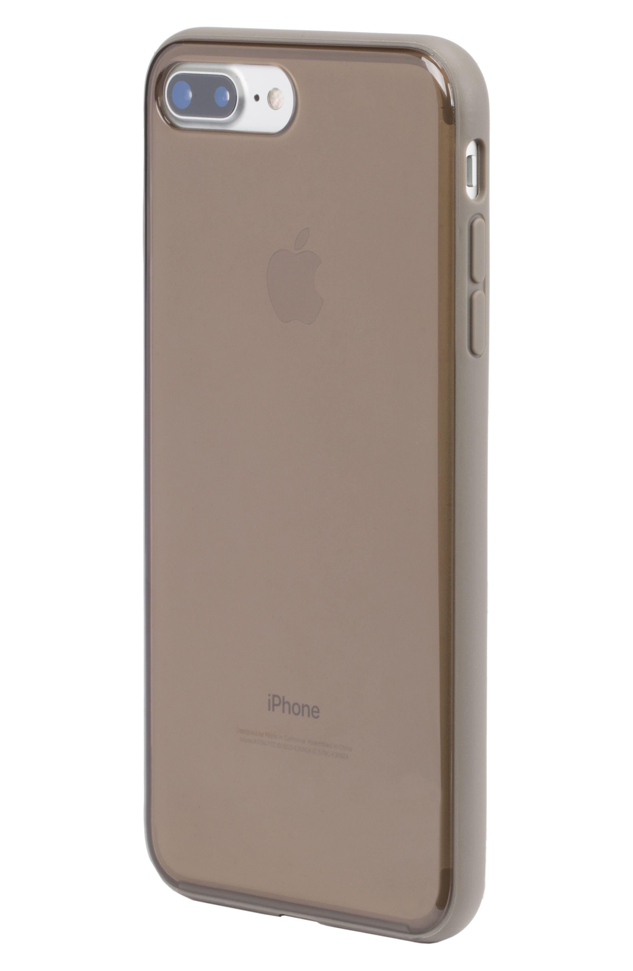 Pop Case Tint iPhone 7 Plus/8 Plus Case,                             Alternate thumbnail 6, color,                             DEEP TAUPE
