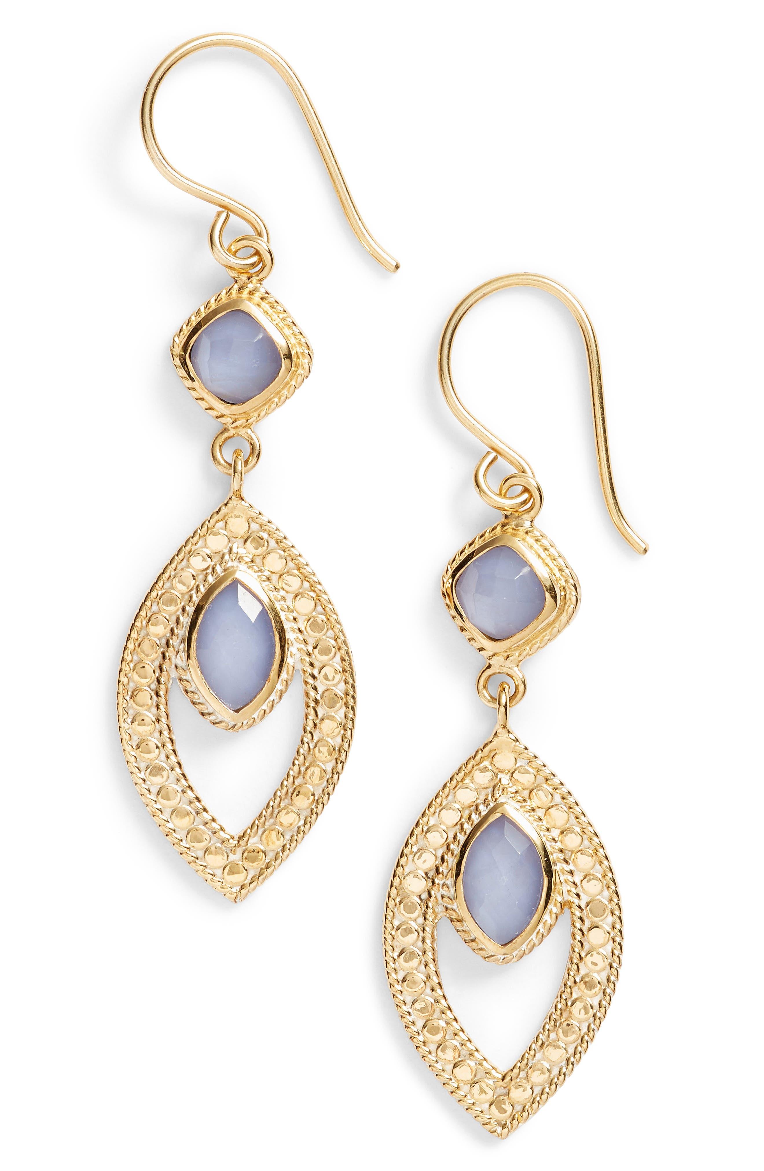 Double Drop Earrings,                             Main thumbnail 1, color,                             400