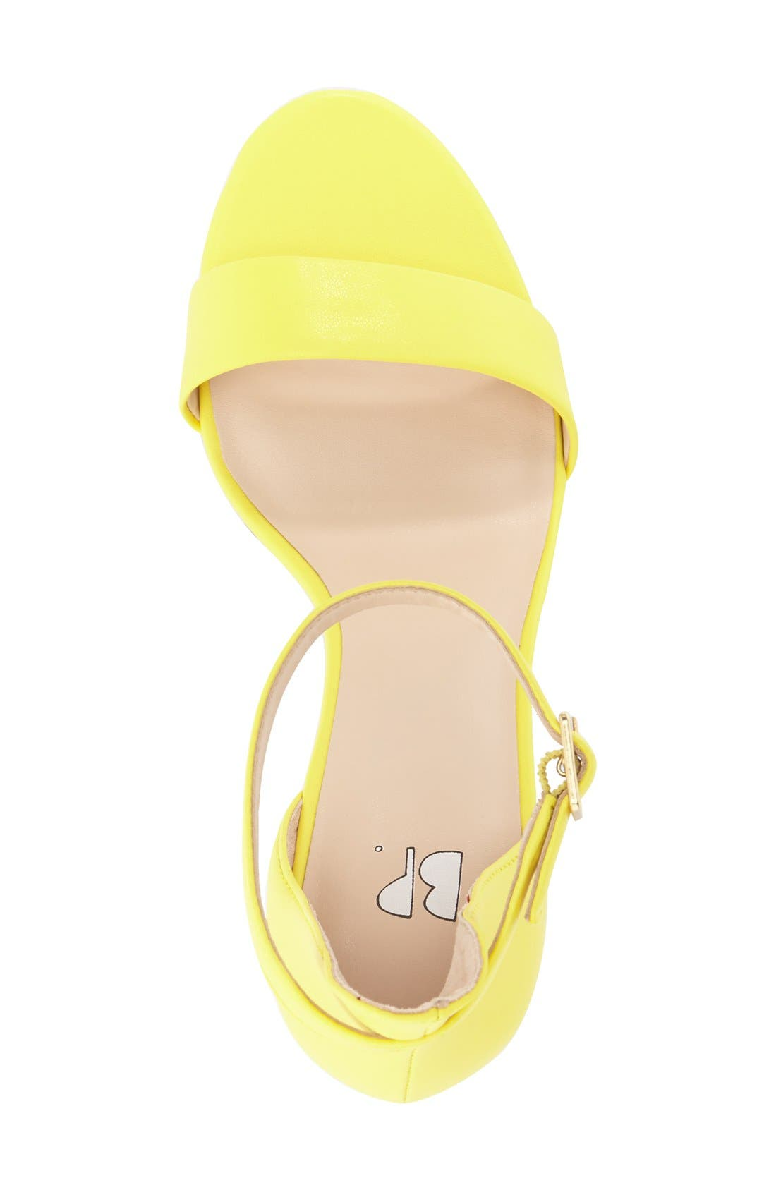 'Luminate' Open Toe Dress Sandal,                             Alternate thumbnail 140, color,