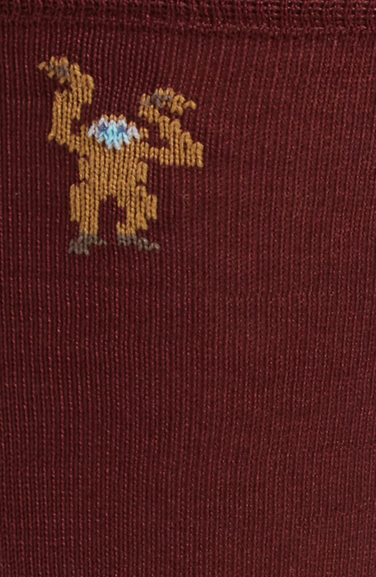 Monkey Socks,                             Alternate thumbnail 4, color,