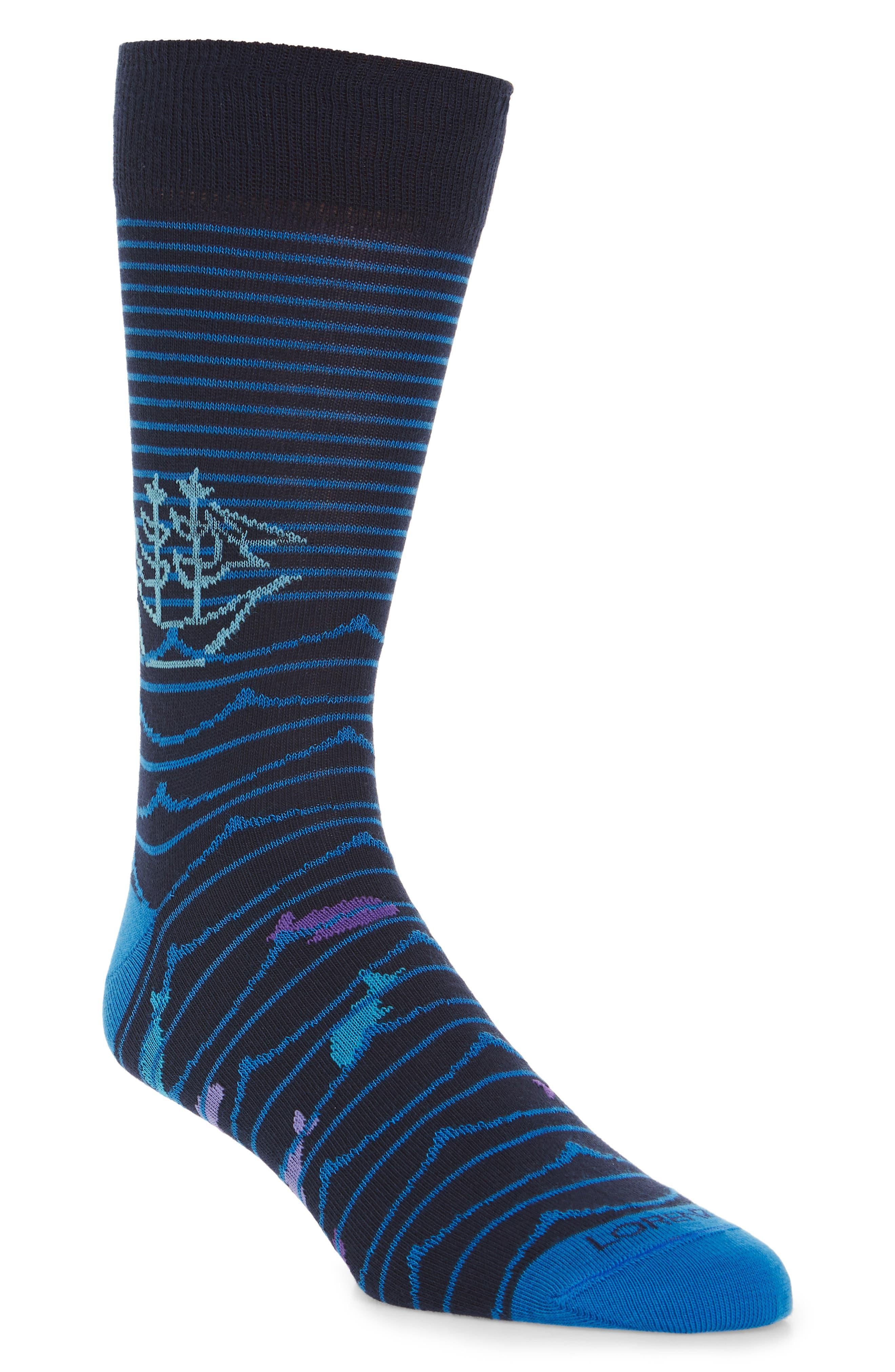 Pirate Ship Socks,                             Main thumbnail 1, color,
