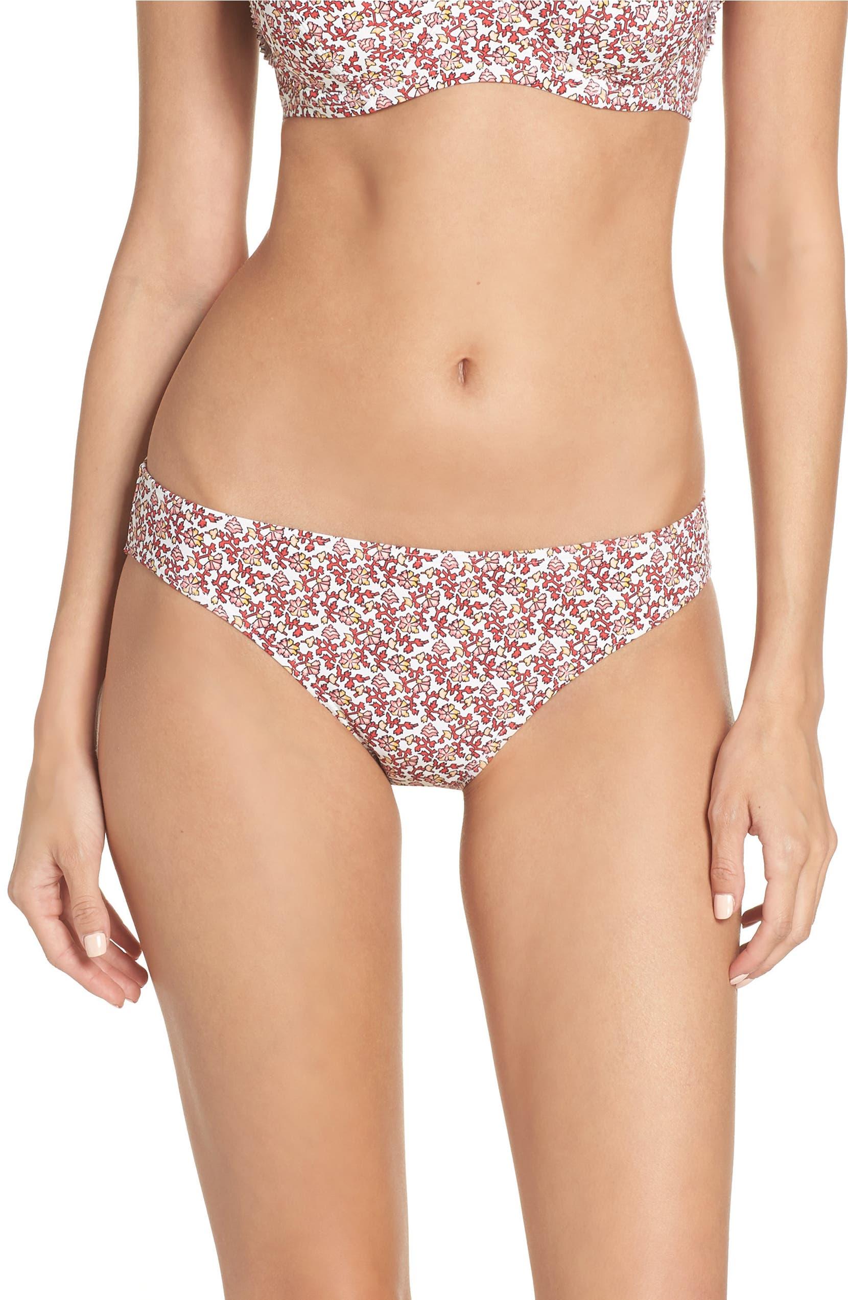 14bdff12f4 Tory Burch Wild Pansy Hipster Bikini Bottoms