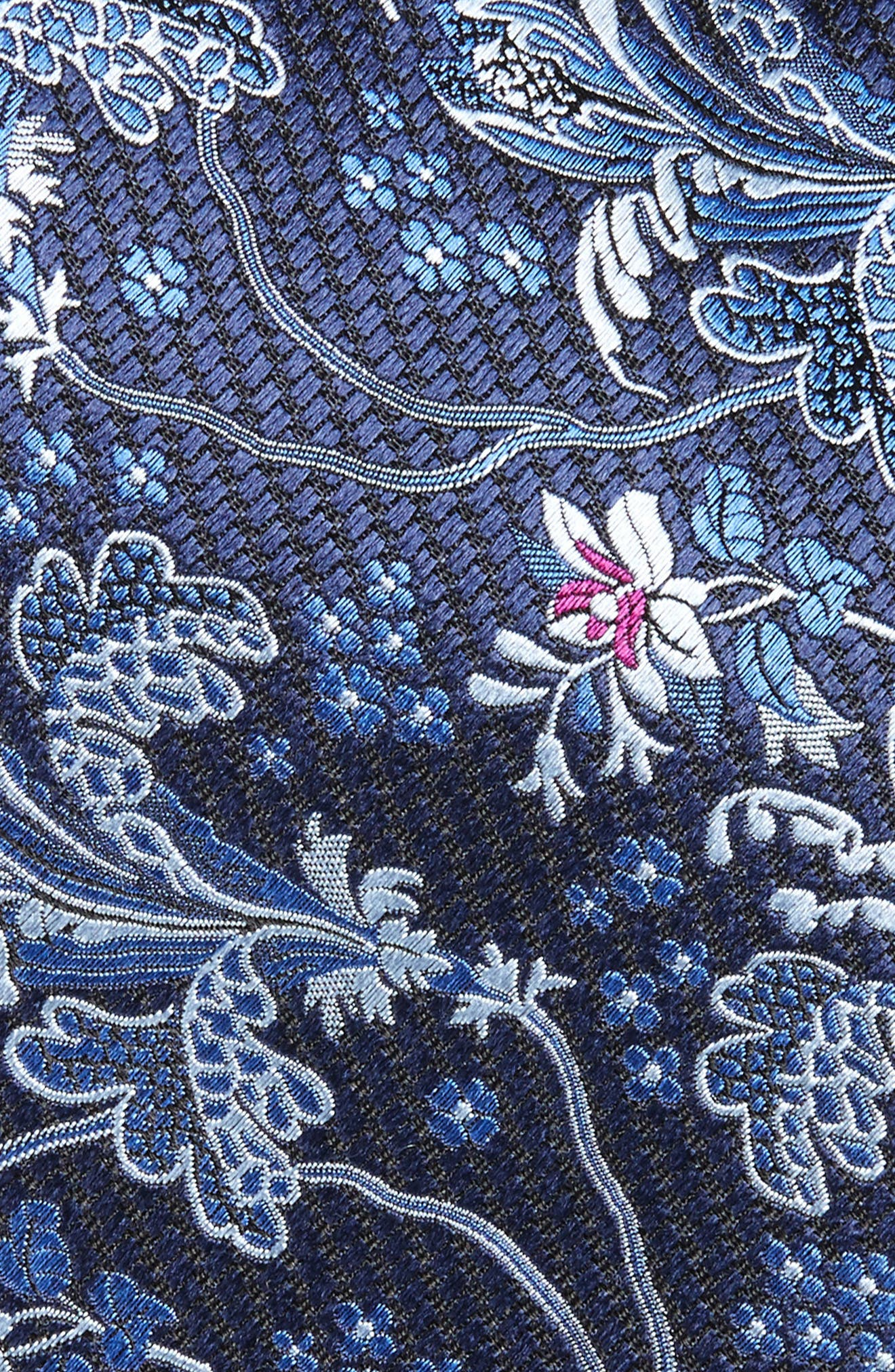 Paisley Silk Tie,                             Alternate thumbnail 2, color,