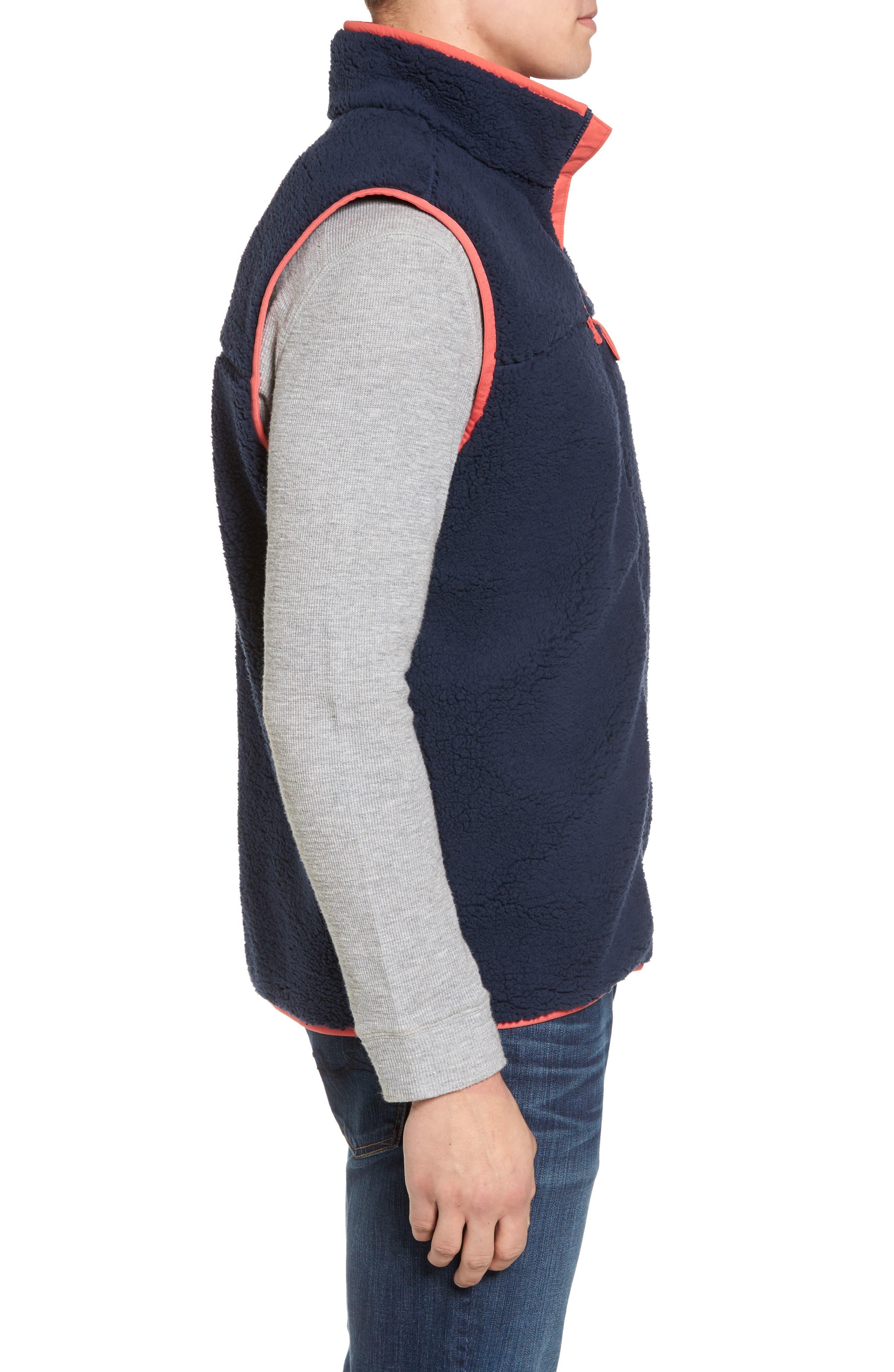Sportswear Harborside Heavyweight Fleece Vest,                             Alternate thumbnail 9, color,