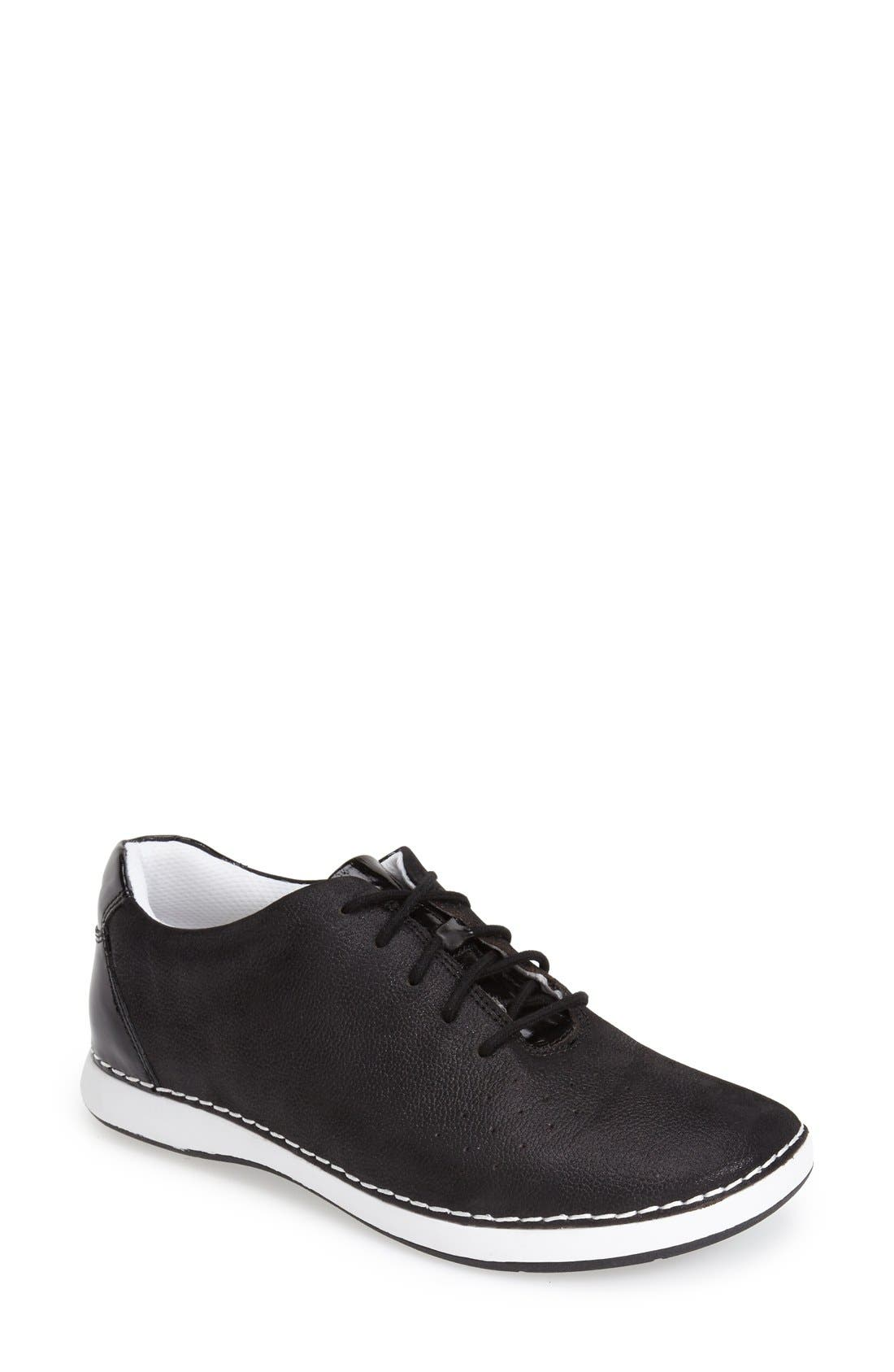 Essence Lace-Up Leather Oxford,                             Main thumbnail 12, color,