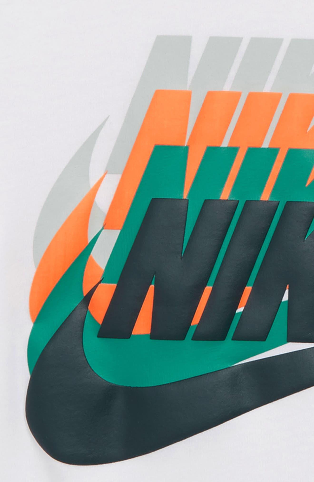 Sportswear Sunset Future Graphic T-Shirt,                             Alternate thumbnail 2, color,                             WHITE
