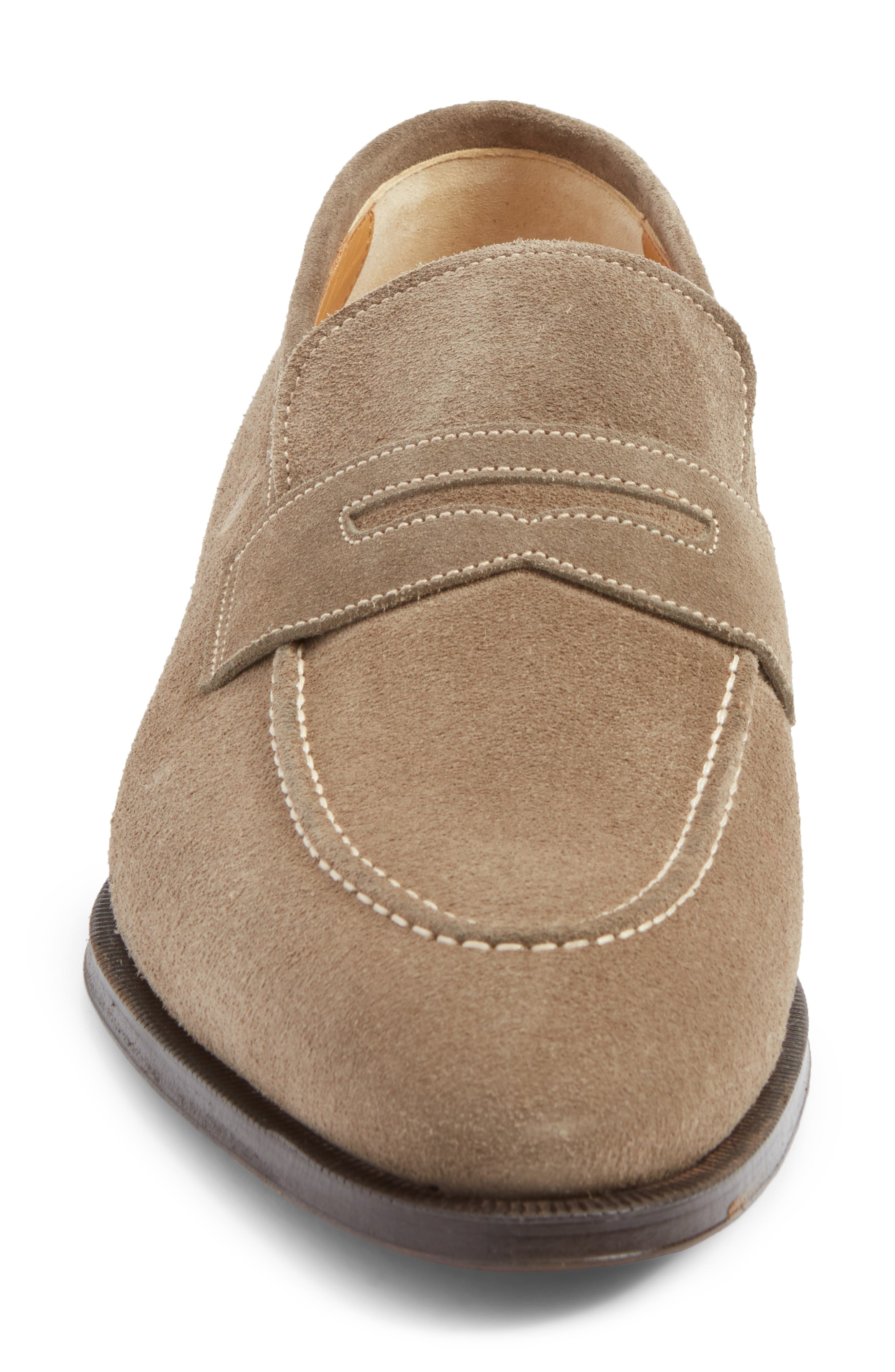 Leather Penny Loafer,                             Alternate thumbnail 20, color,