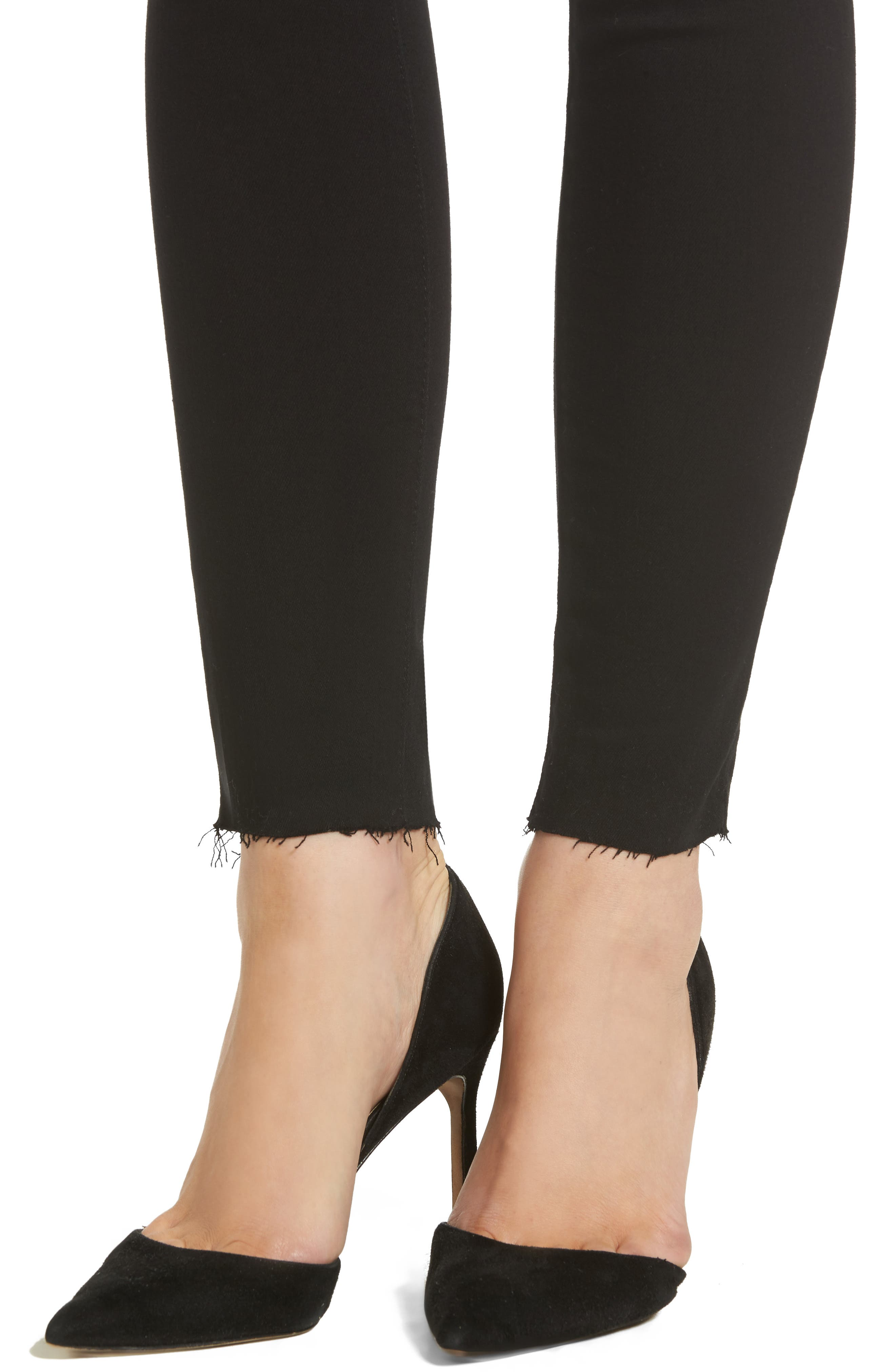 The Legging Ripped Super Skinny Jeans,                             Alternate thumbnail 4, color,                             006