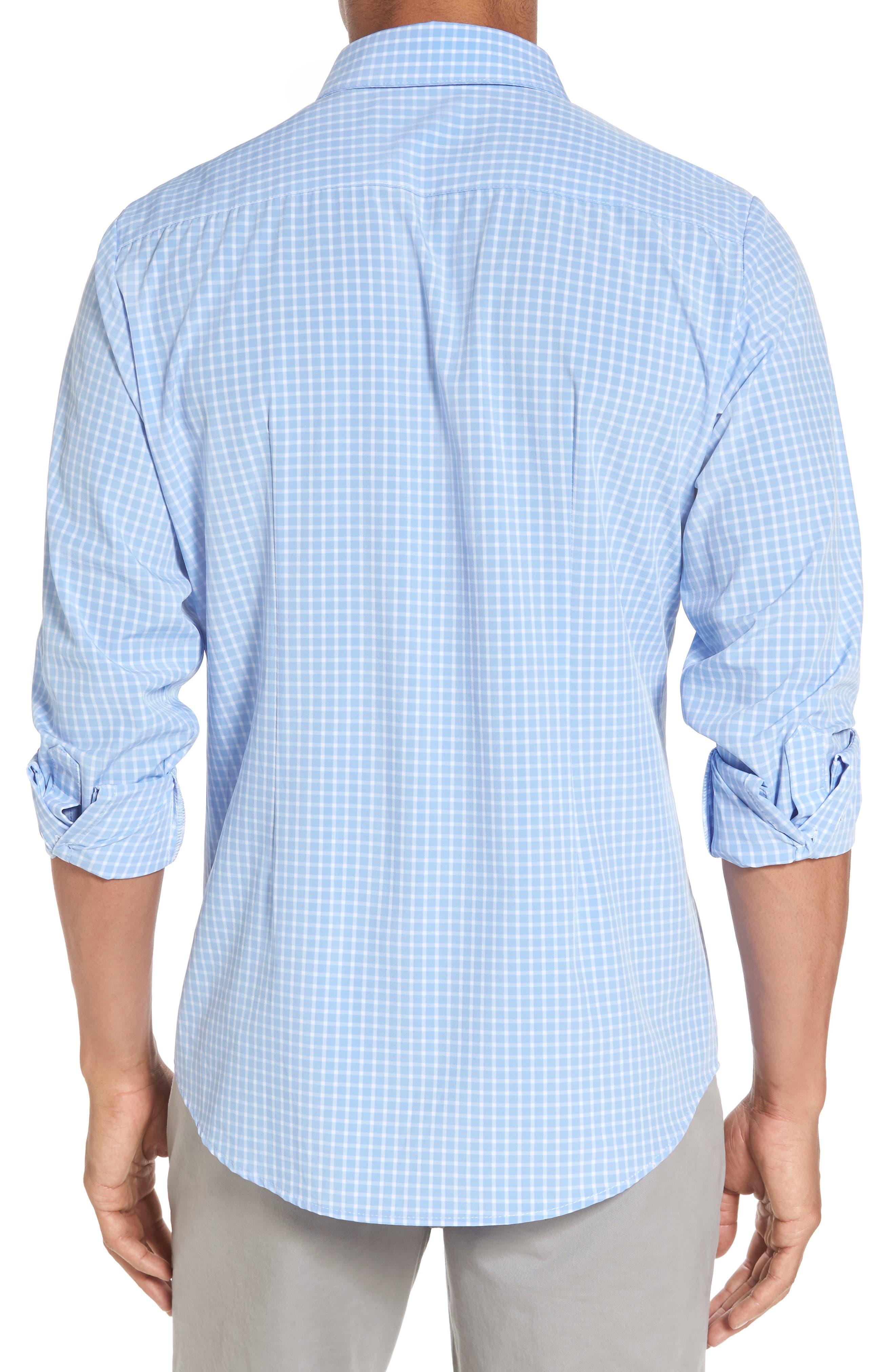 Carter Windowpane Check Sport Shirt,                             Alternate thumbnail 2, color,                             400