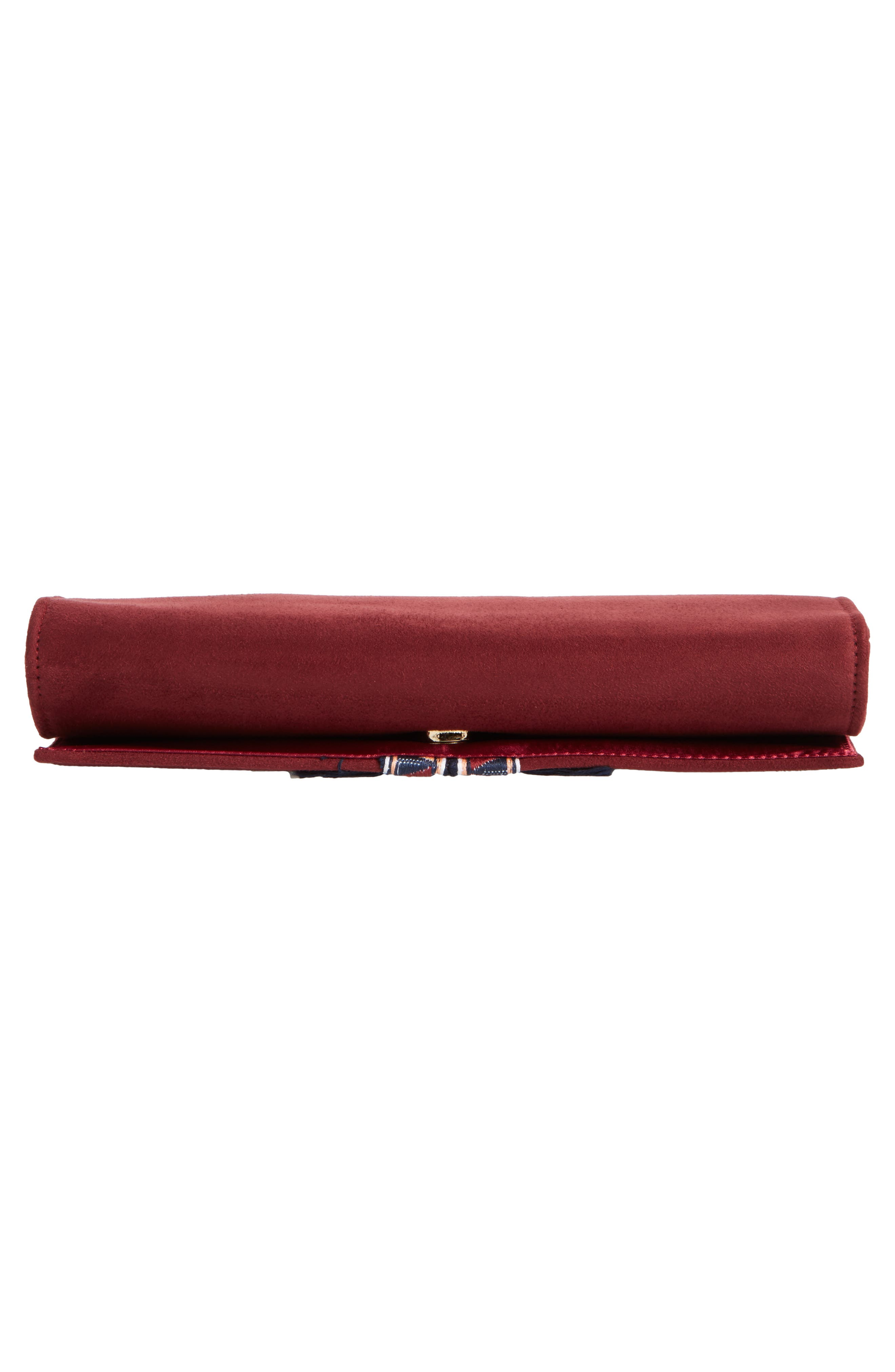 Rada Embroidered Clutch,                             Alternate thumbnail 12, color,