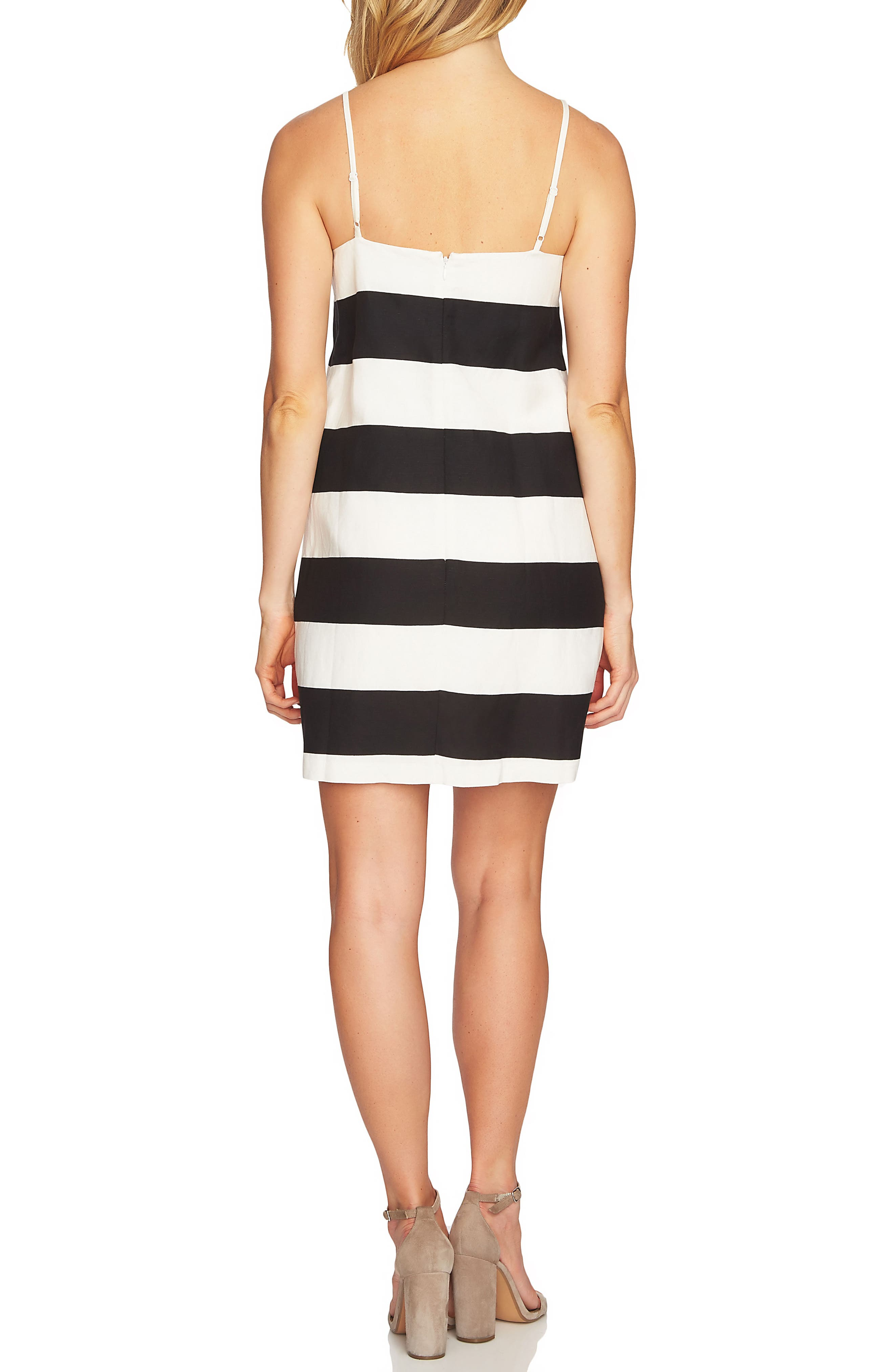 Carnival Stripe Dress,                             Alternate thumbnail 4, color,