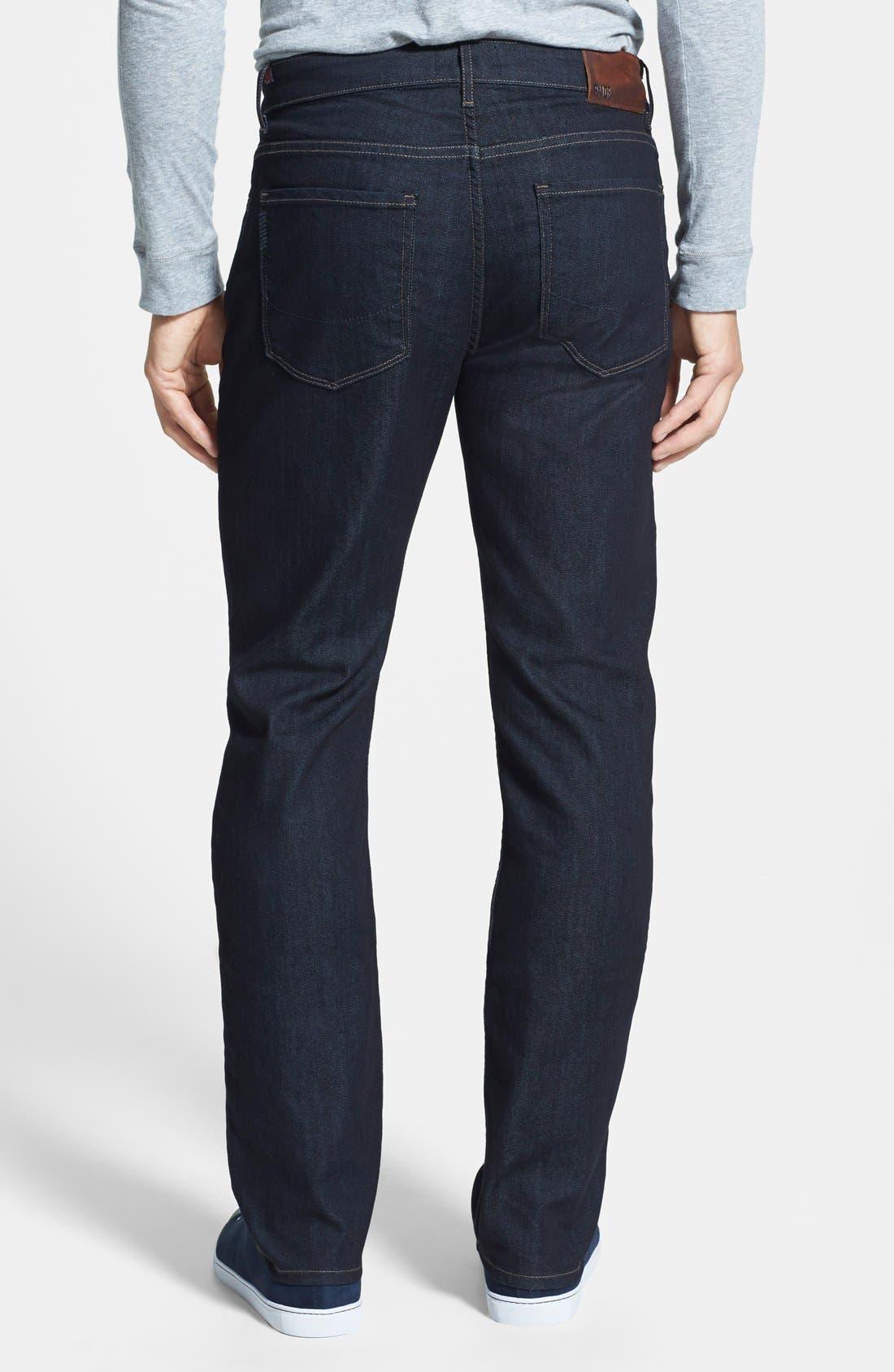 'Normandie' Straight Leg Jeans,                             Alternate thumbnail 3, color,                             400