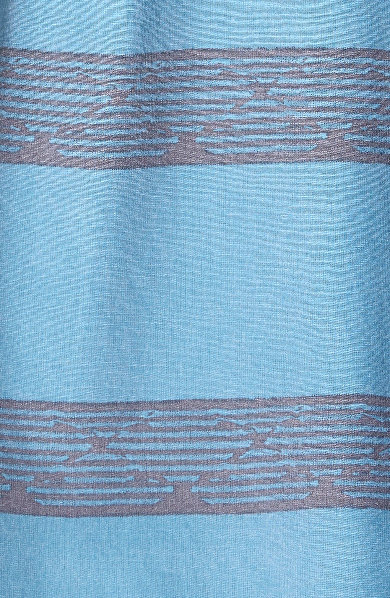 Wagner Woven Shirt,                             Alternate thumbnail 5, color,                             DEEP TEAL