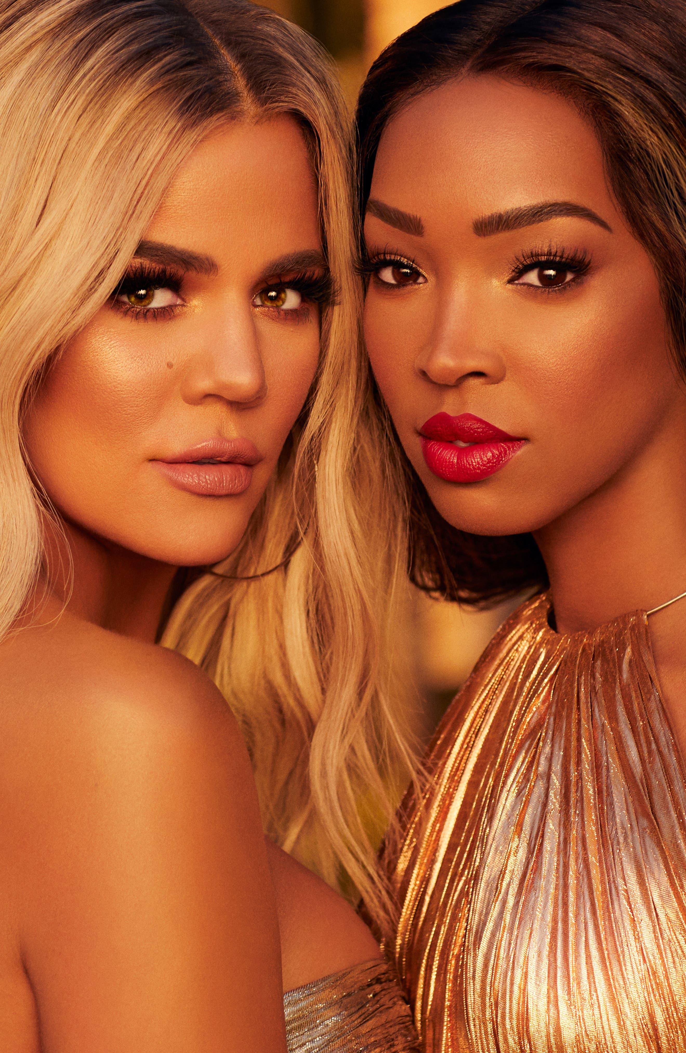 BECCA COSMETICS,                             BECCA x Khloé Kardashian & Malika Haqq BFF Ultimate Lipstick Love,                             Alternate thumbnail 4, color,                             CUPID KISS