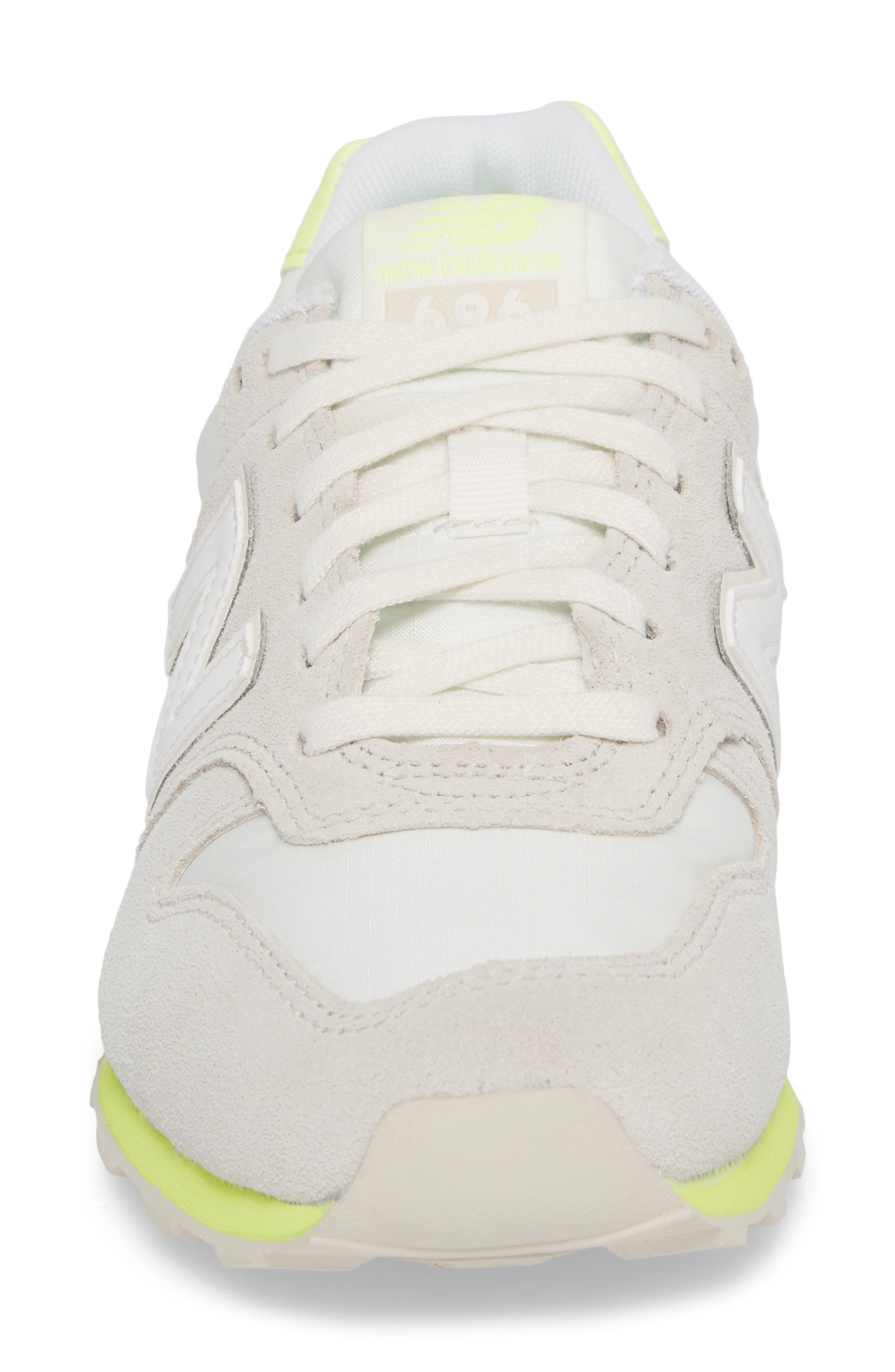 696 Suede Sneaker,                             Alternate thumbnail 4, color,                             250