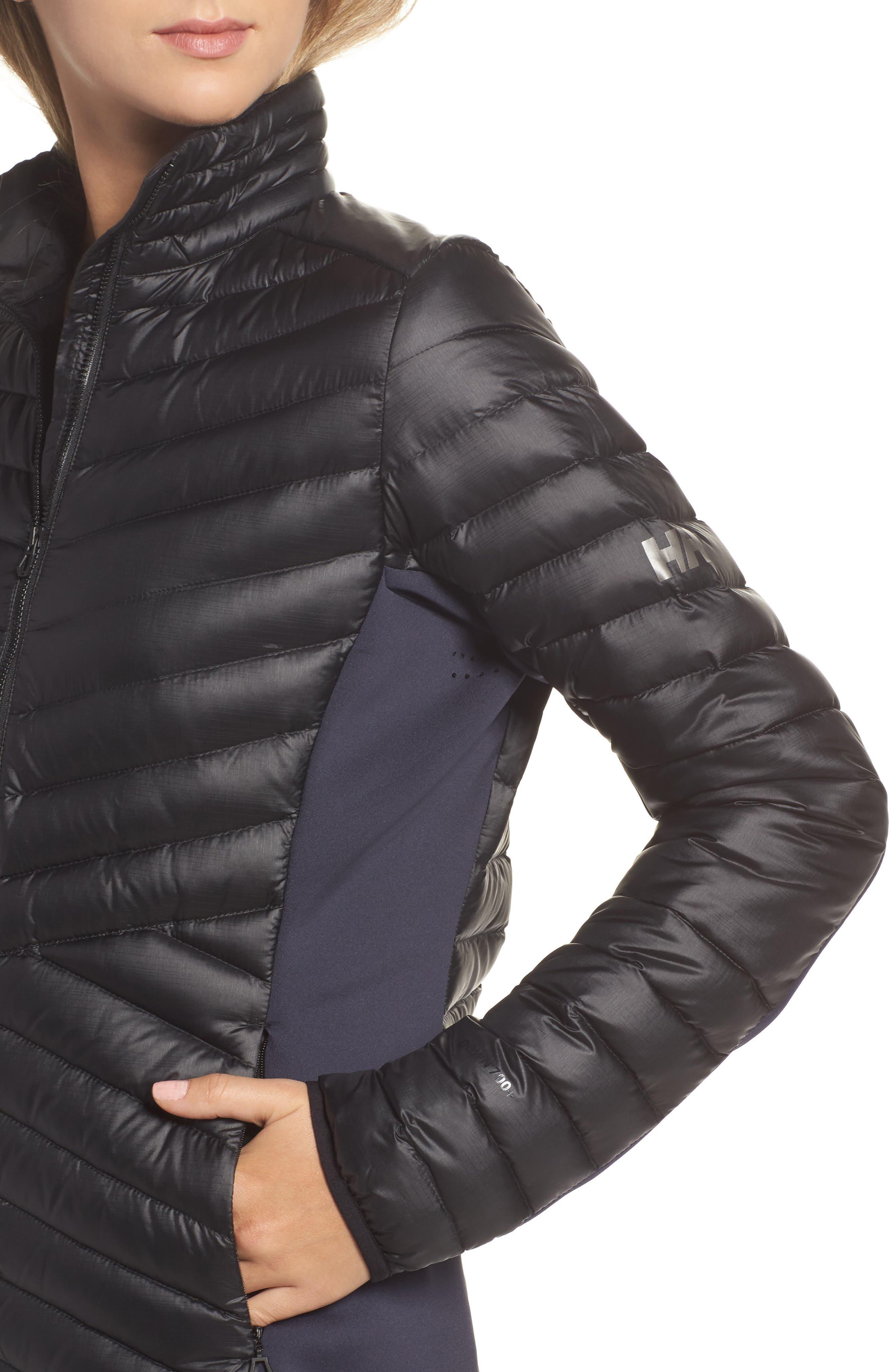 Verglas Hybrid Down Insulator Jacket,                             Alternate thumbnail 4, color,                             001