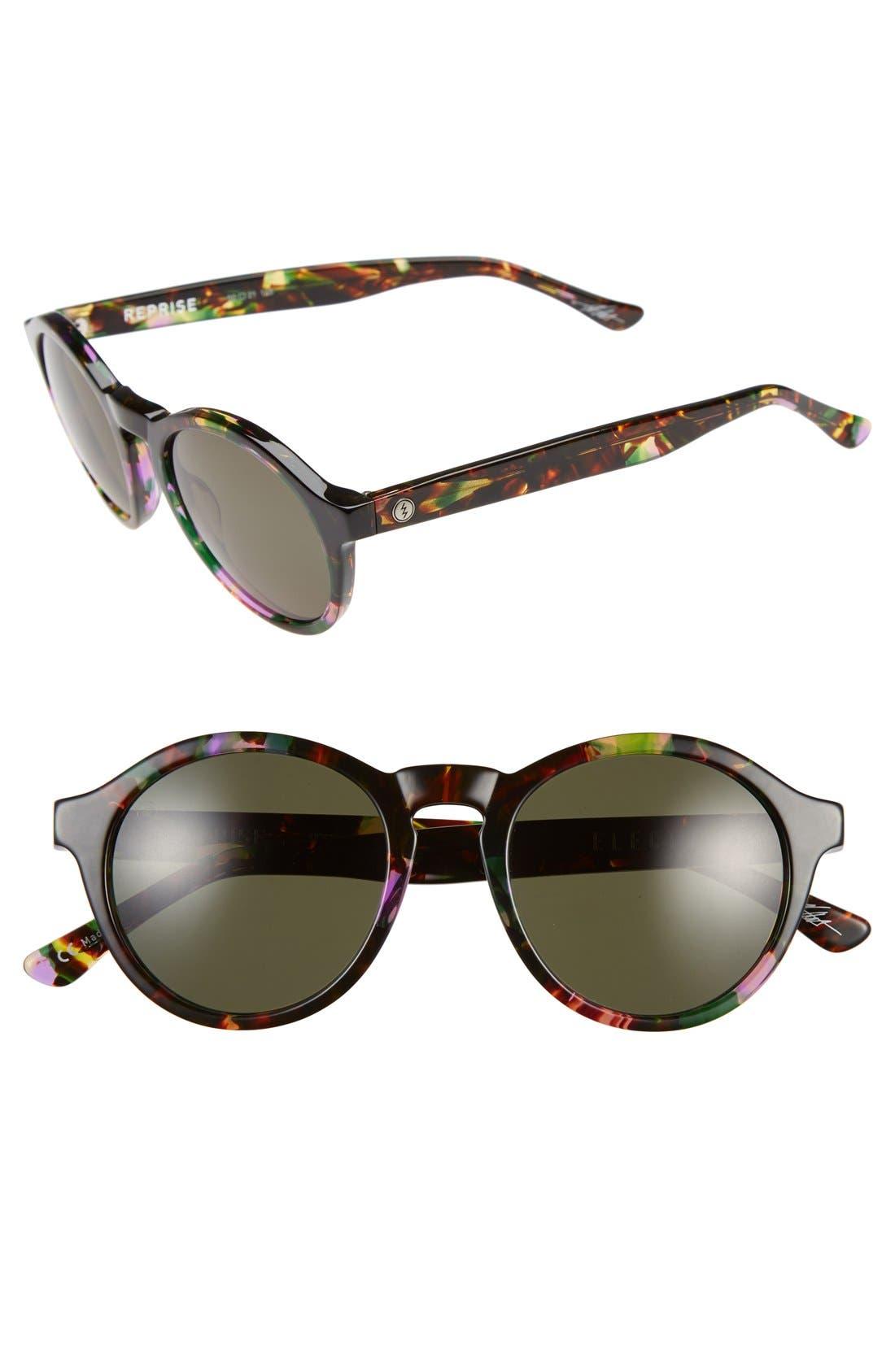 'Reprise' 50mm Round Sunglasses,                             Main thumbnail 5, color,