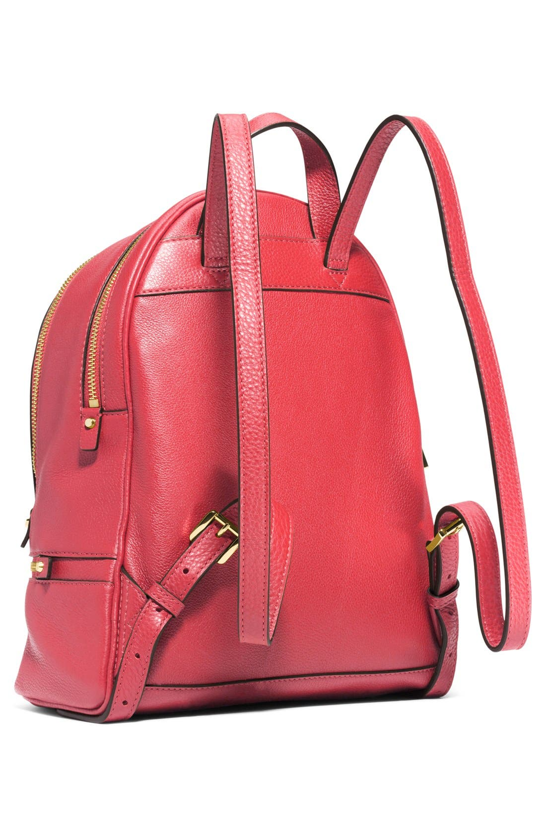 'Extra Small Rhea Zip' Leather Backpack,                             Alternate thumbnail 26, color,