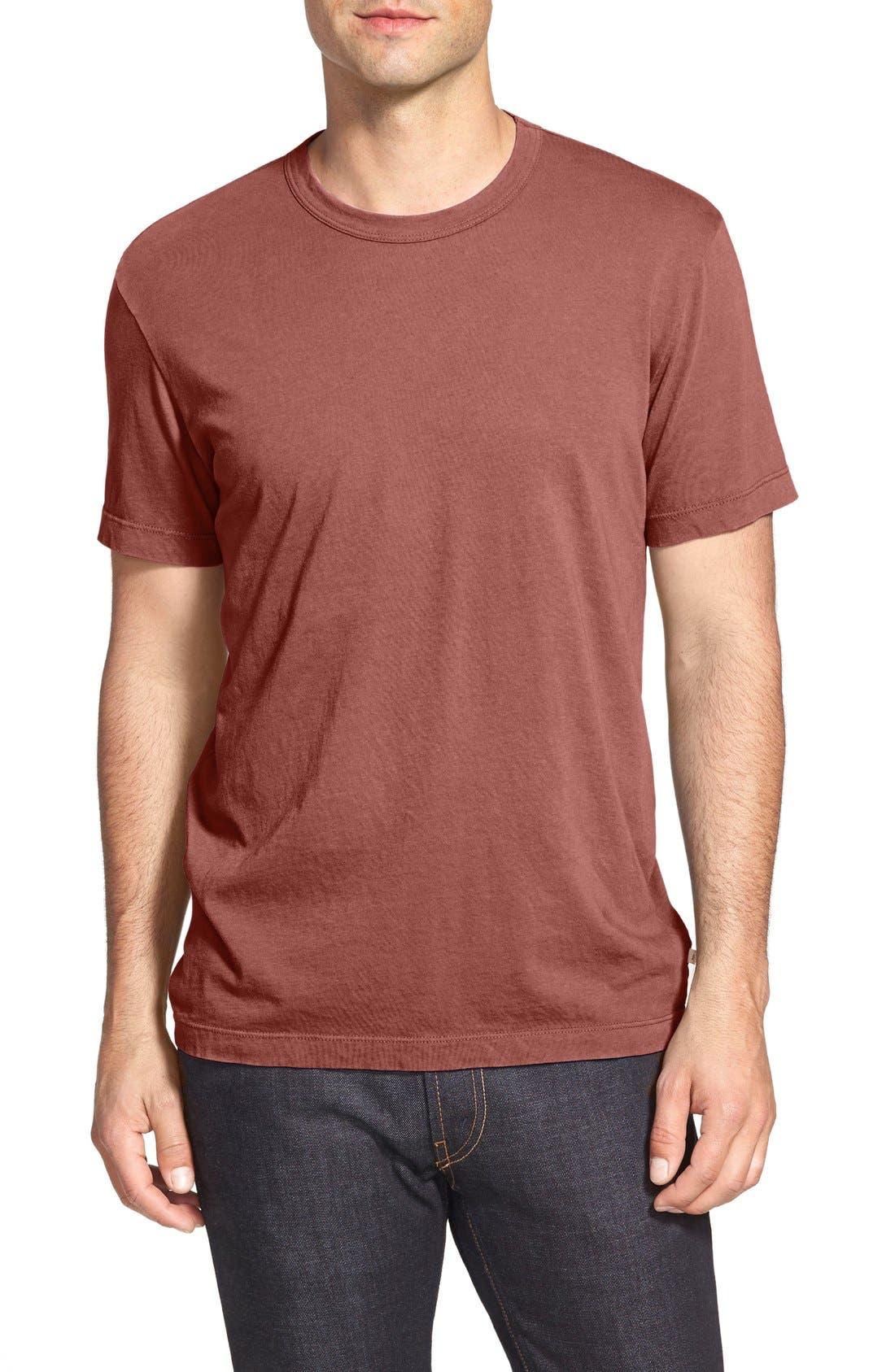 Crewneck Jersey T-Shirt,                             Main thumbnail 2, color,