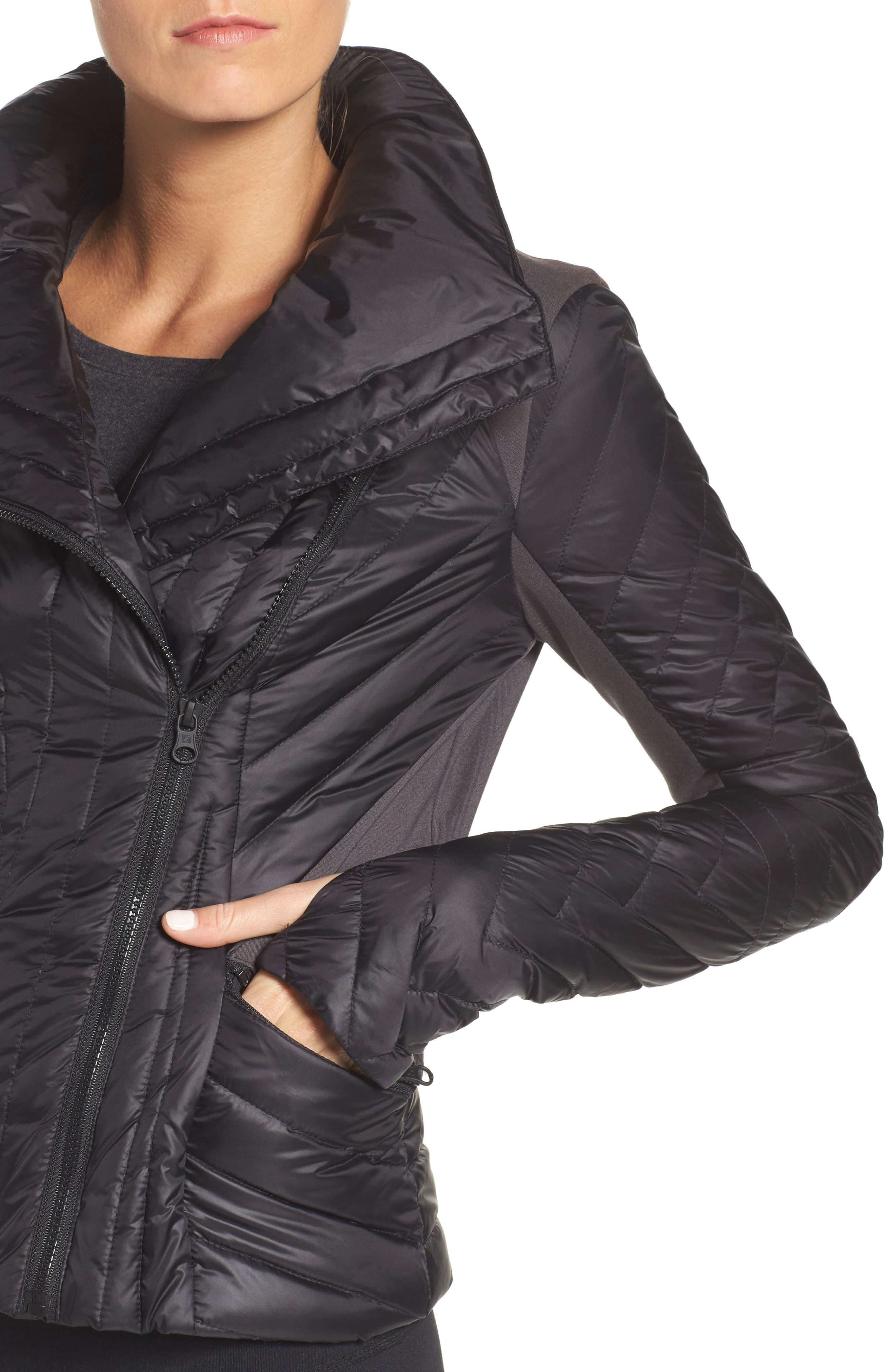 Motion Panel Down Puffer Jacket,                             Alternate thumbnail 4, color,                             009