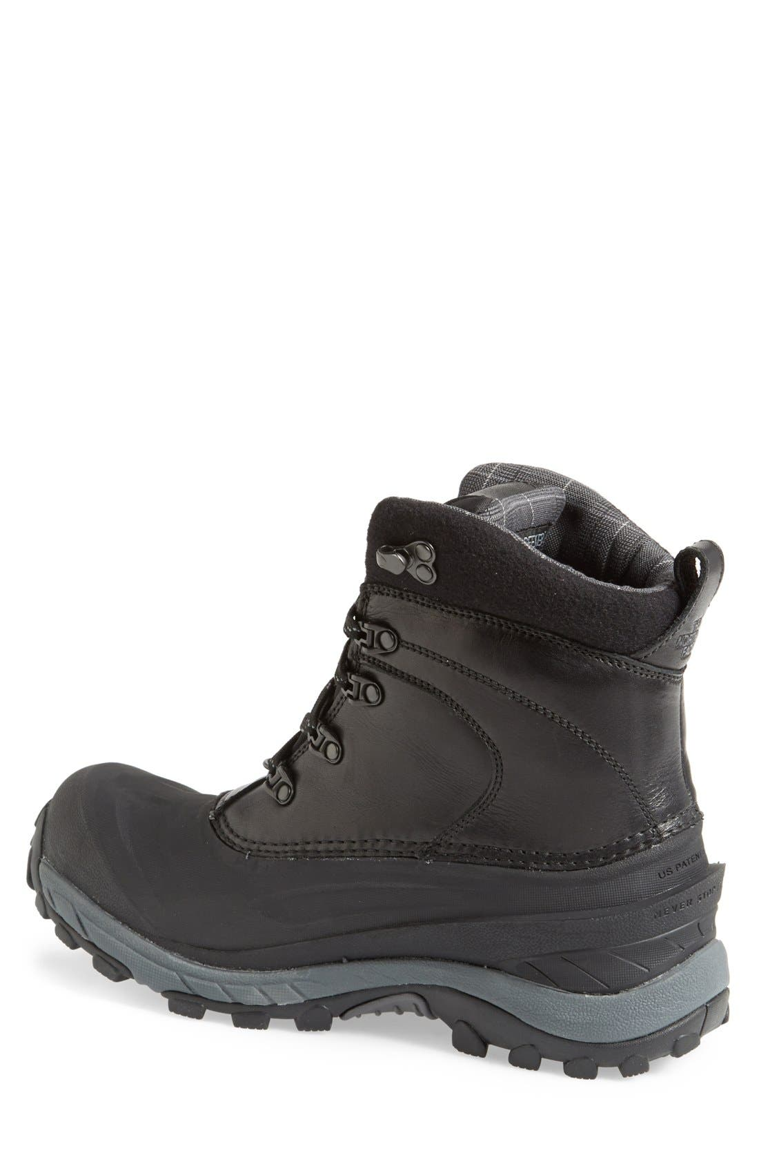 'Chilkat II Luxe' Snow Boot,                             Alternate thumbnail 3, color,                             001