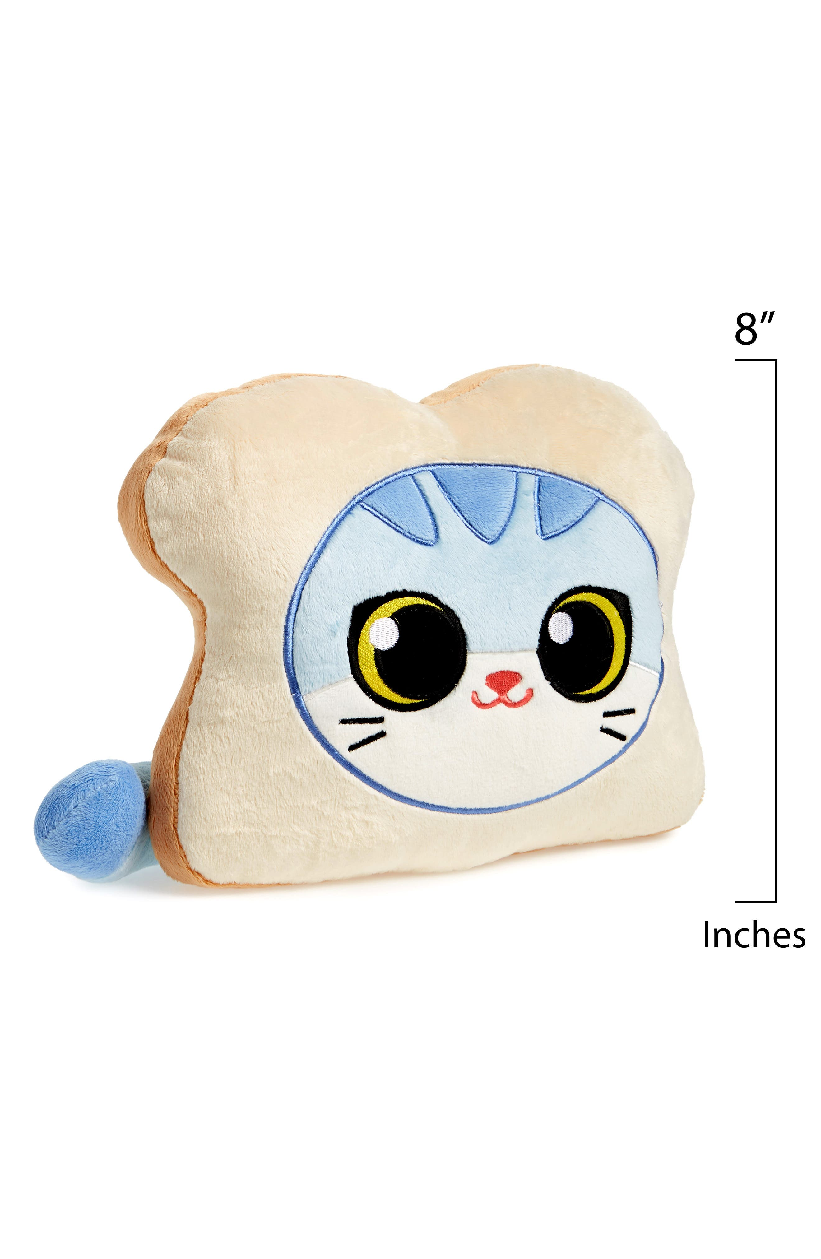 Cat Bread Stuffed Pillow,                             Alternate thumbnail 2, color,                             270