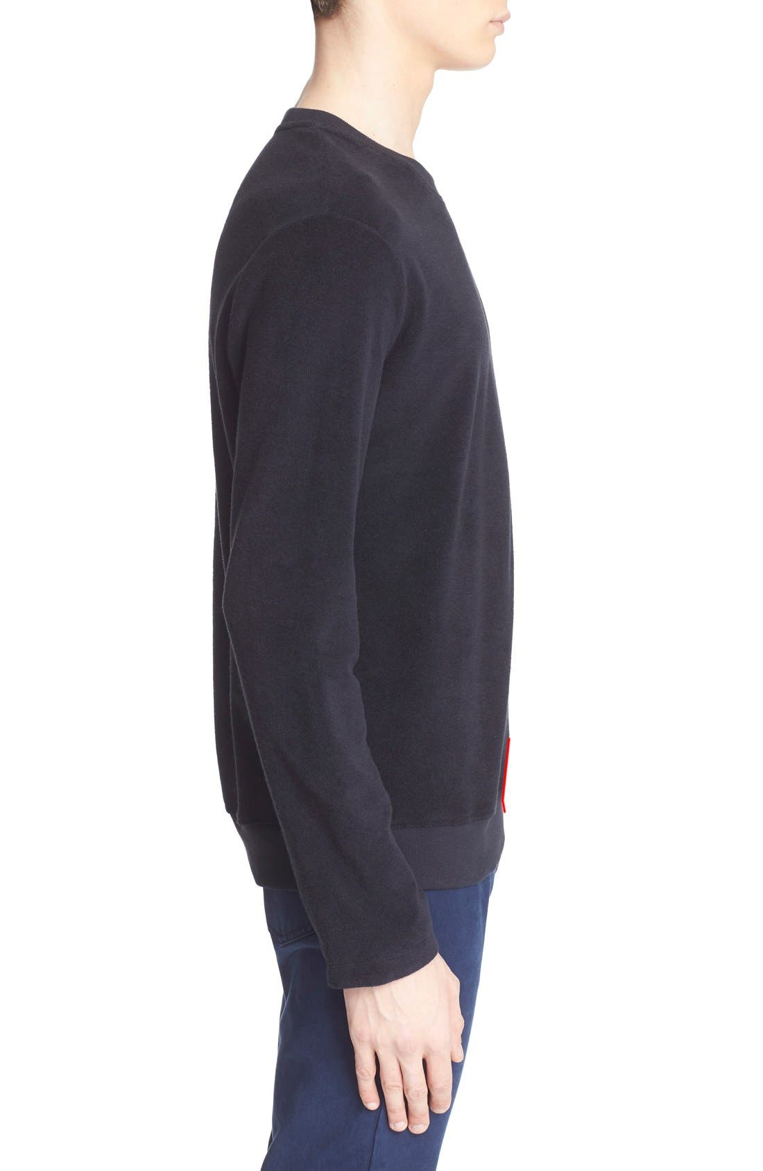 Crewneck Sweatshirt,                             Alternate thumbnail 3, color,                             410