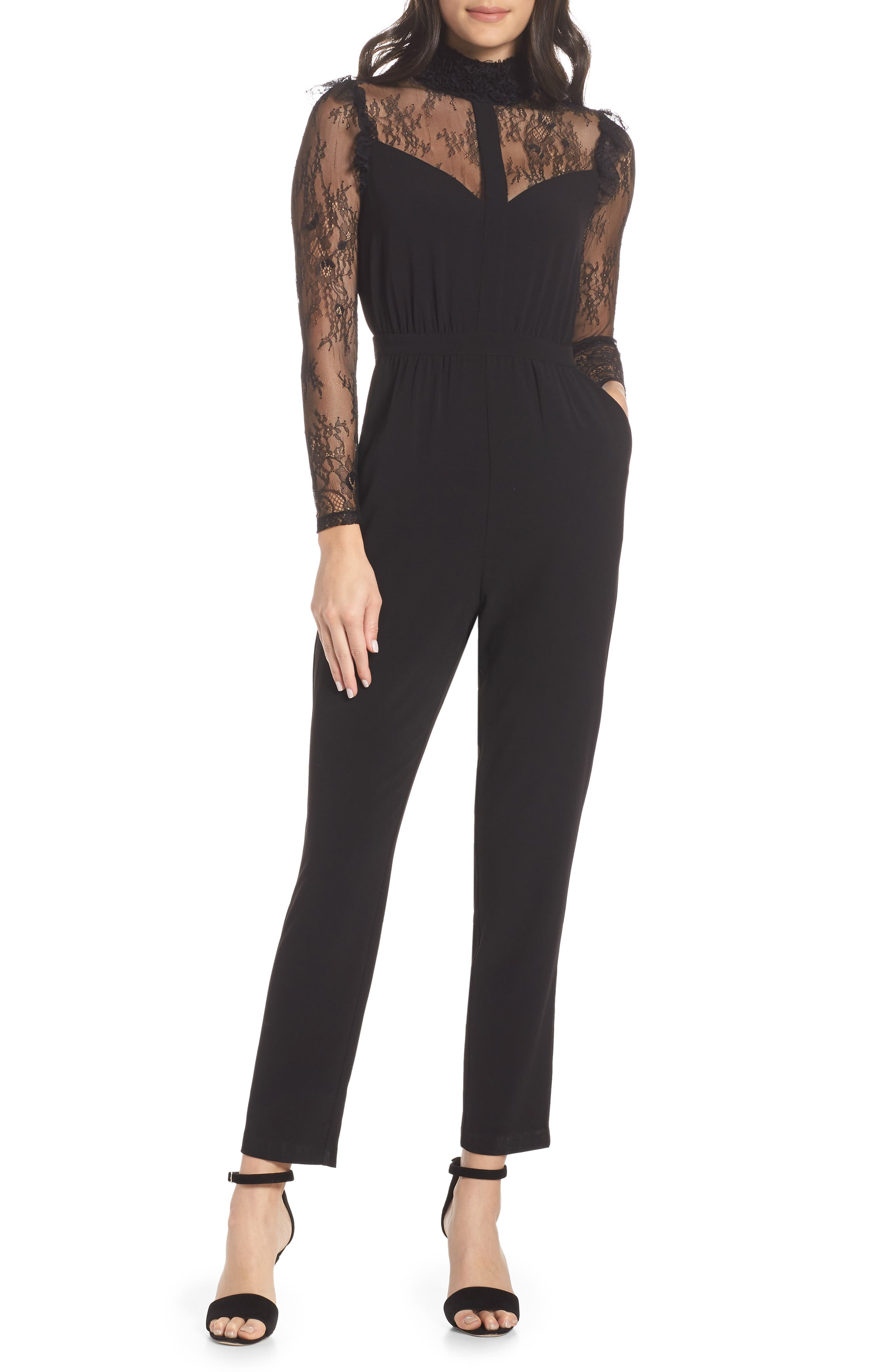 ALI & JAY Be My Baby Jumpsuit in Black