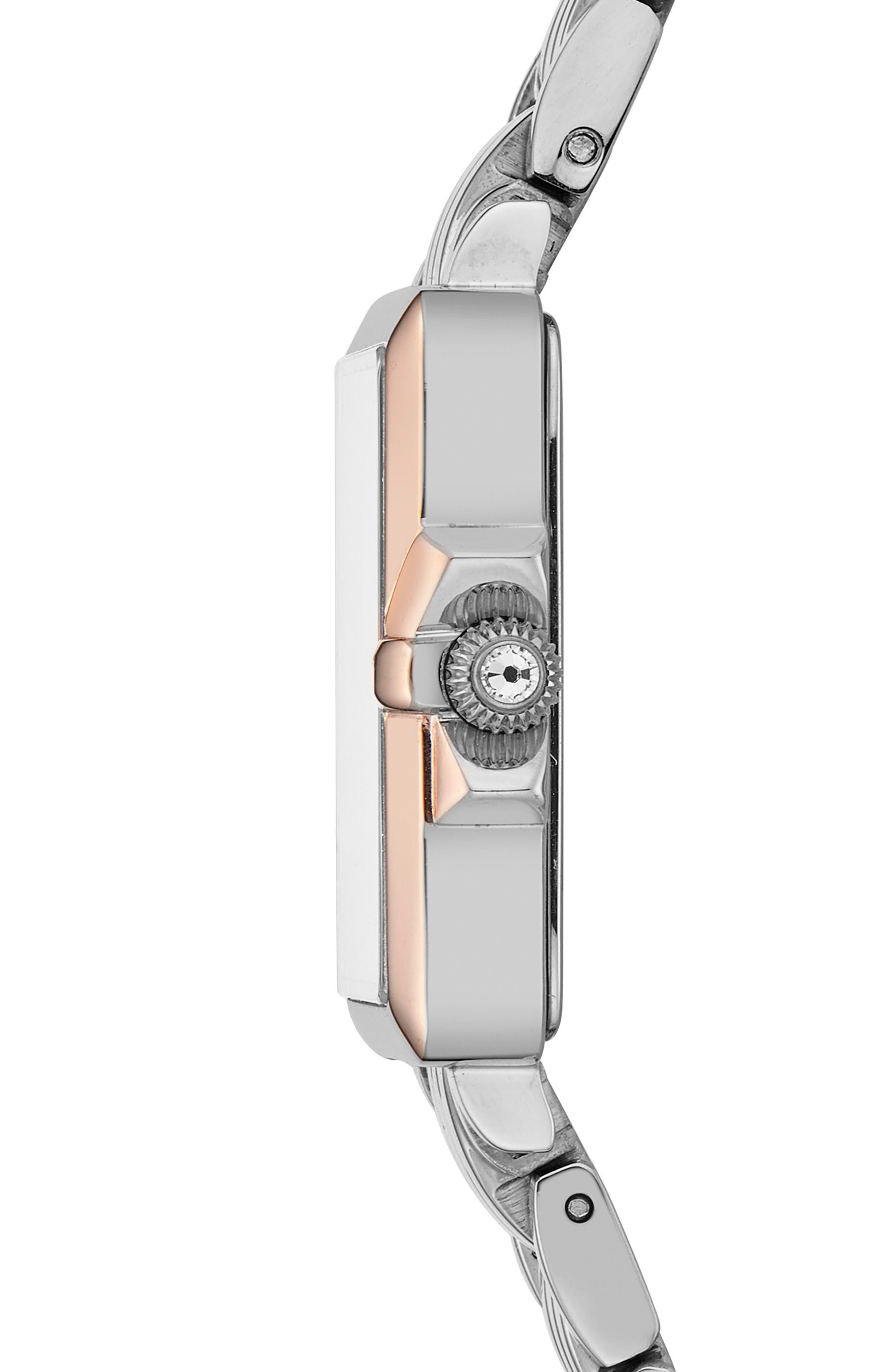 TED BAKER LONDON,                             Tess Bracelet Watch, 20mm,                             Alternate thumbnail 3, color,                             040