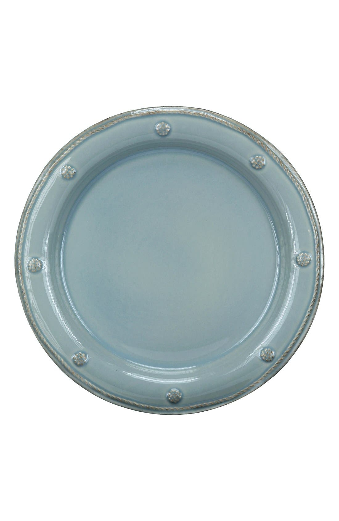 'Berry and Thread' Salad Plate,                         Main,                         color, ICE BLUE