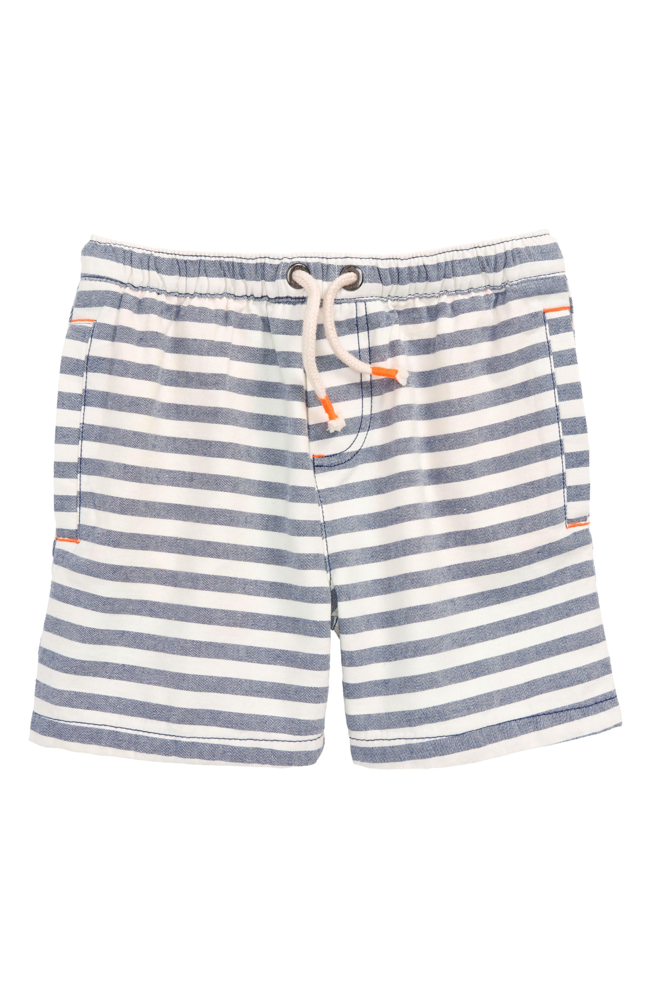 Stripe Drawstring Shorts,                             Main thumbnail 1, color,                             414