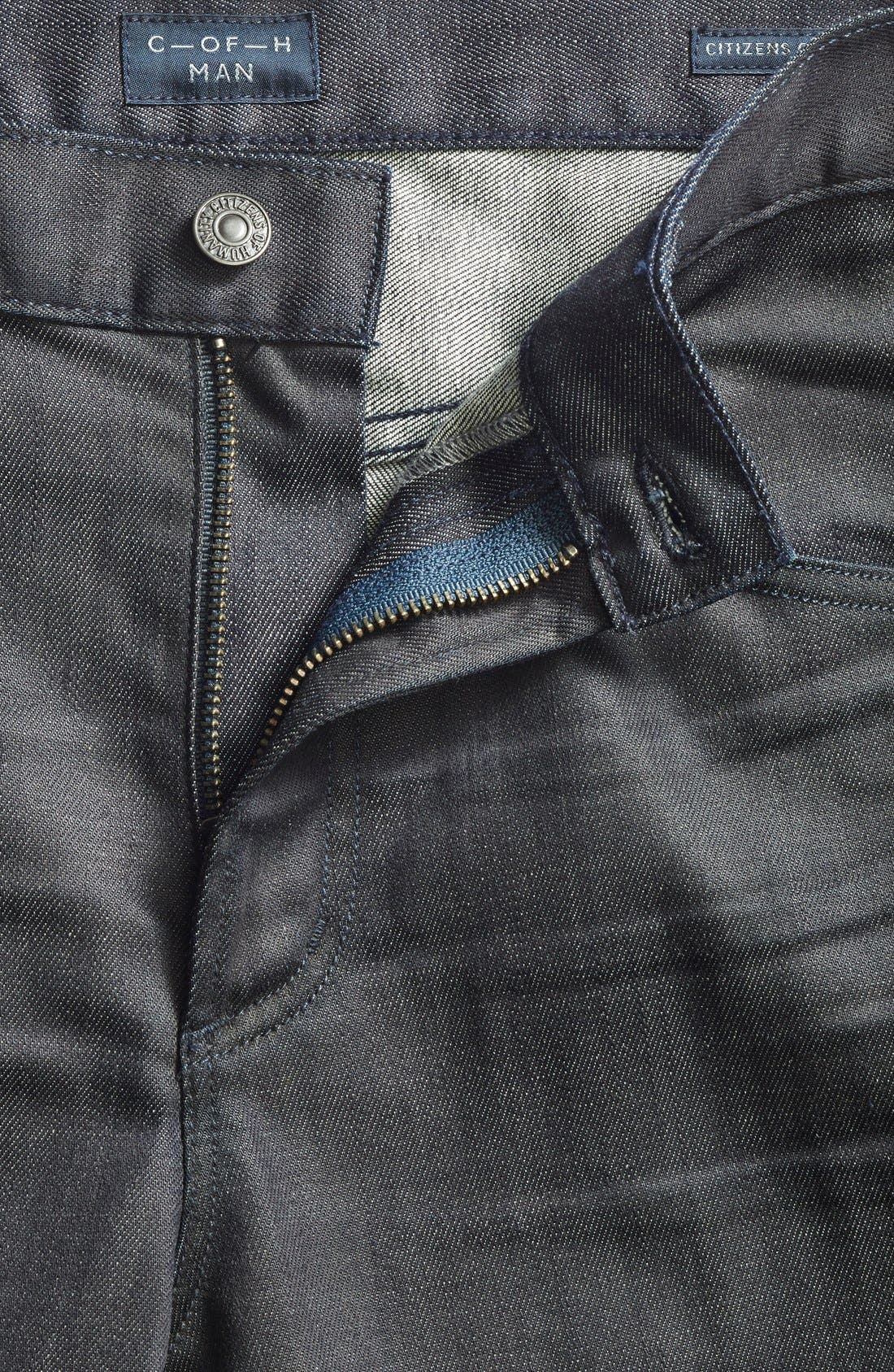 'Core' Slim Fit Jeans,                             Alternate thumbnail 5, color,                             PRESTIGE