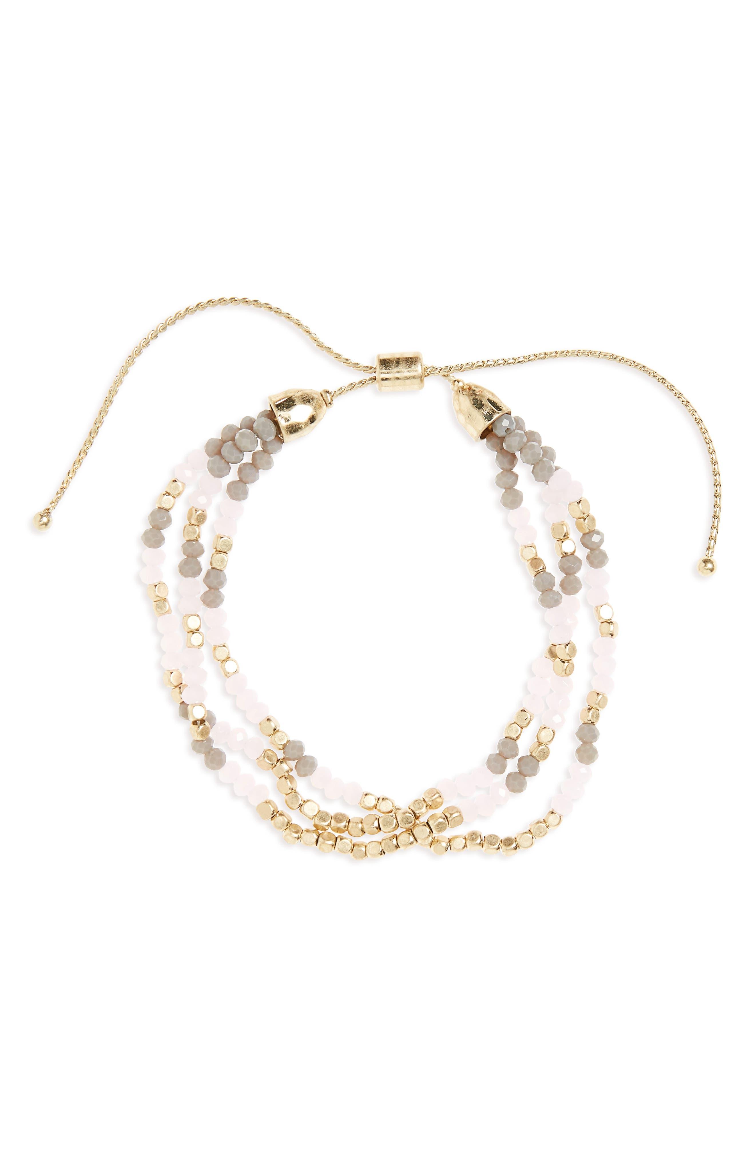 Beaded Friendship Bracelet,                         Main,                         color, 650