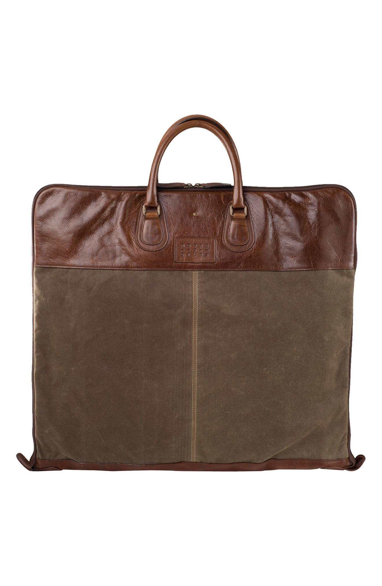 Gravely Garment Bag,                         Main,                         color, WAXWEAR RANGERTAN