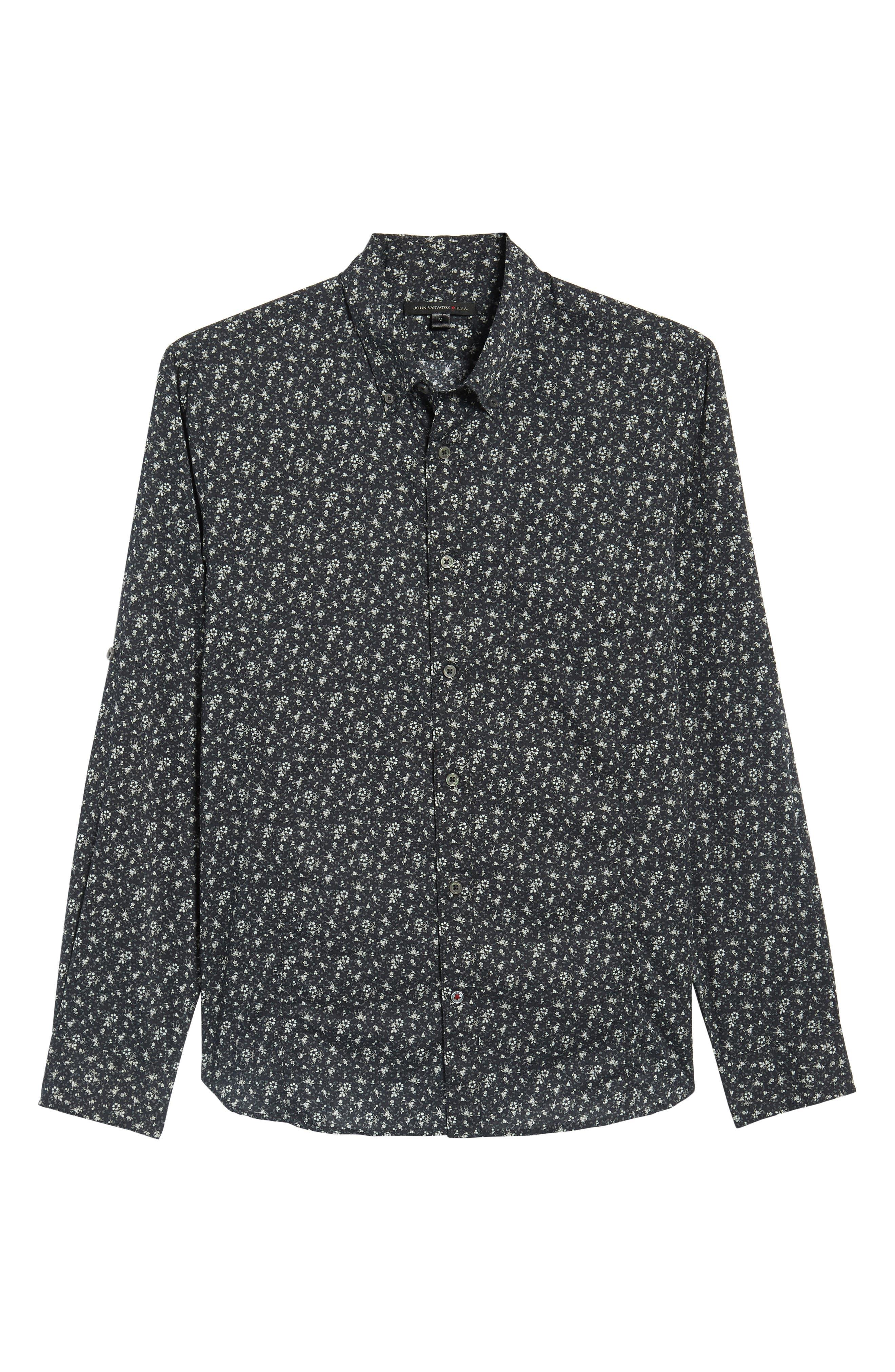 Extra Slim Fit Sport Shirt,                             Alternate thumbnail 6, color,                             012