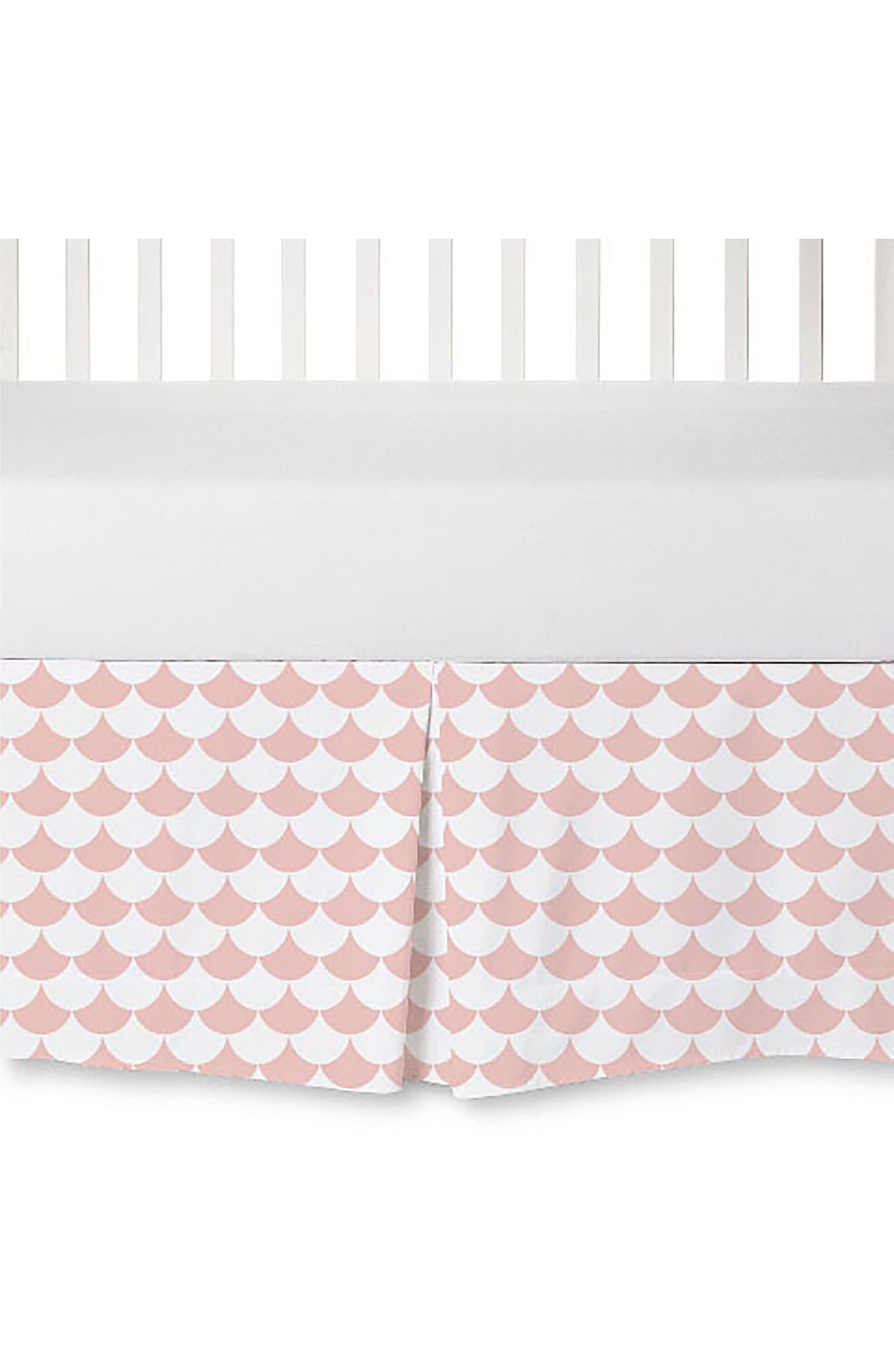 Crib Bed Skirt,                             Main thumbnail 3, color,