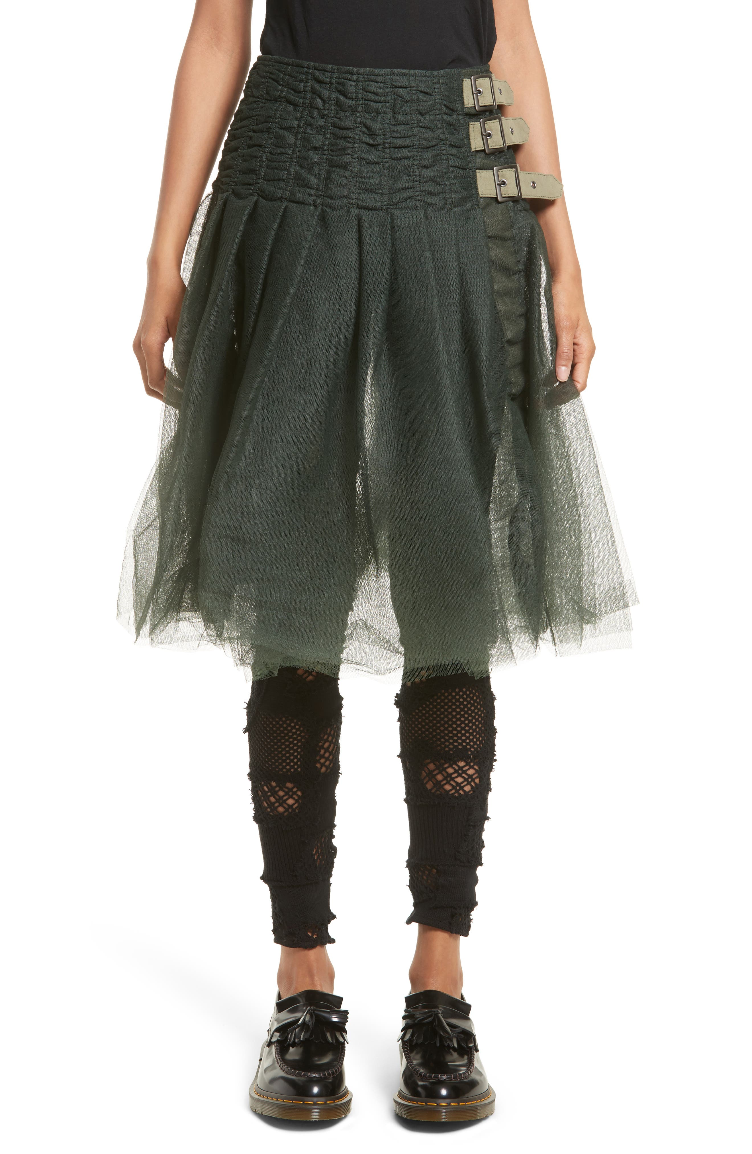 Tulle Skirt,                         Main,                         color, 300